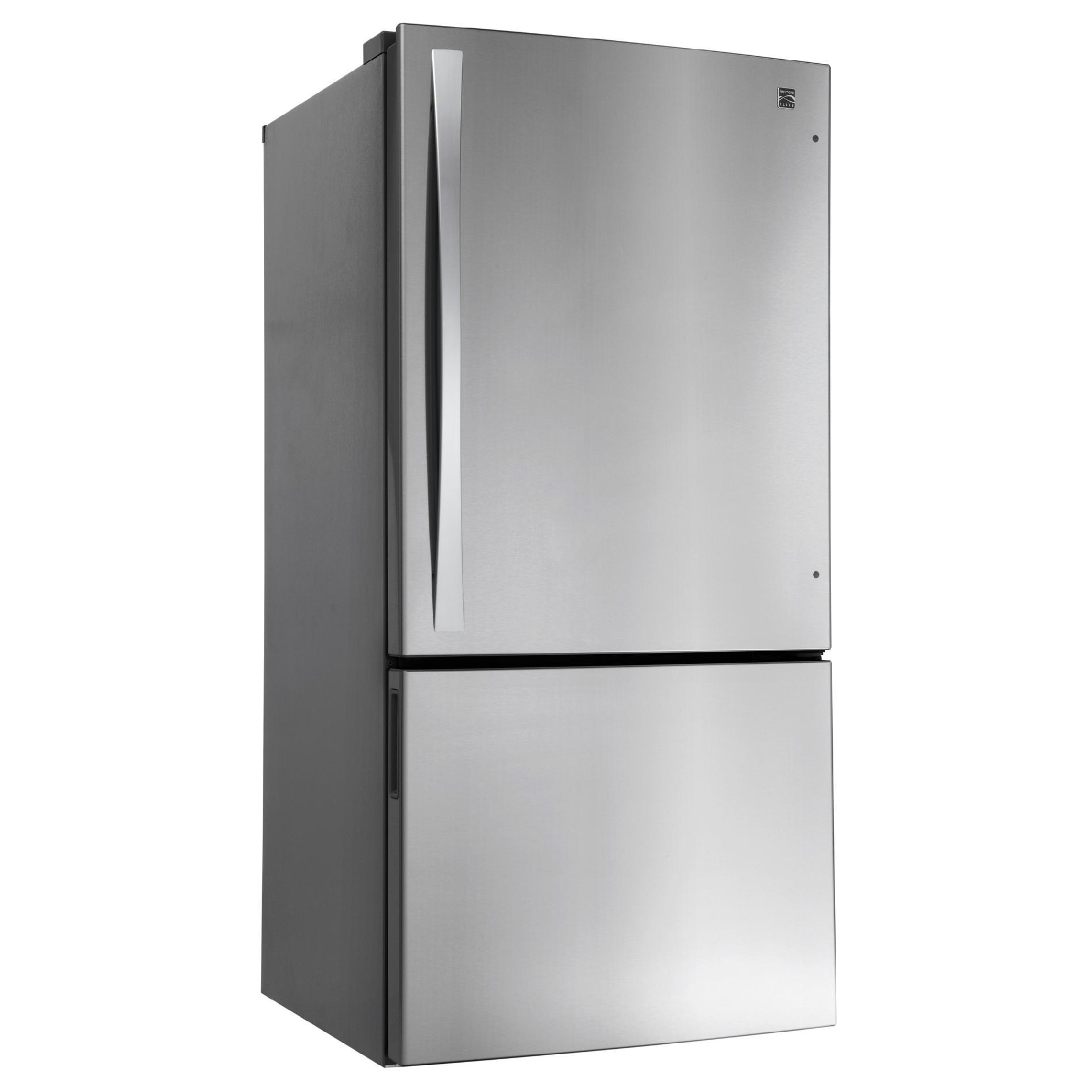Kenmore Elite 24 cu. ft. Bottom-Freezer Refrigerator - Stainless Steel