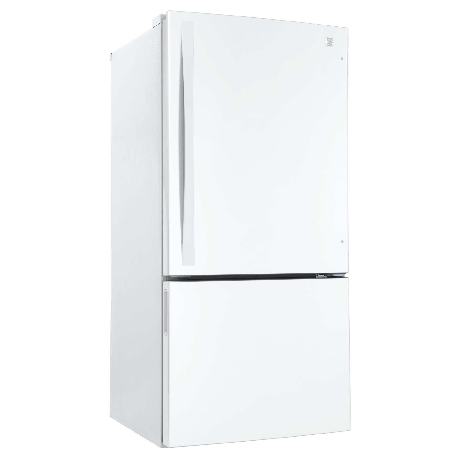 Kenmore Elite 24 cu. ft. Bottom-Freezer Refrigerator - White