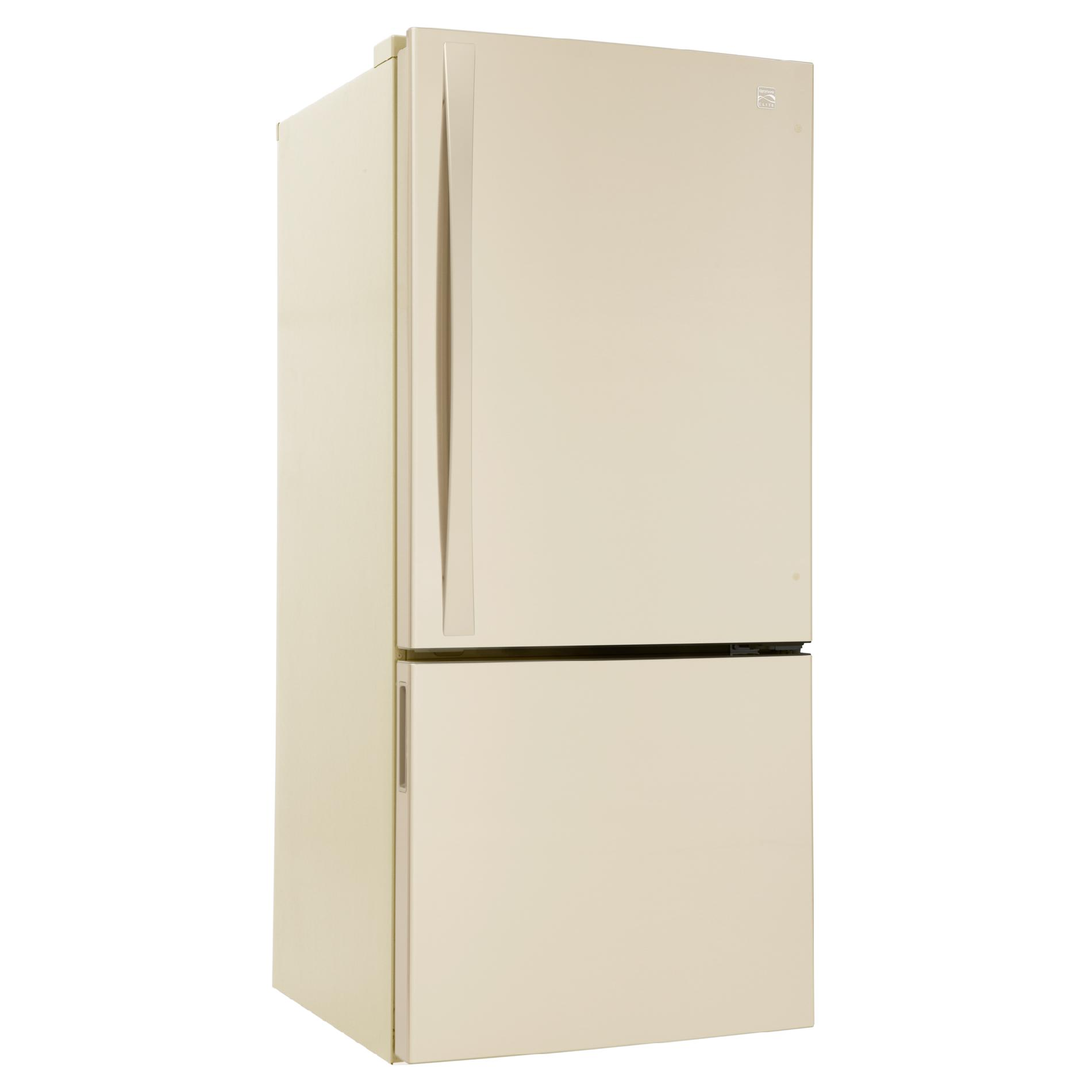 Kenmore Elite 22.1 cu. ft. Bottom-Freezer Refrigerator - Bisque