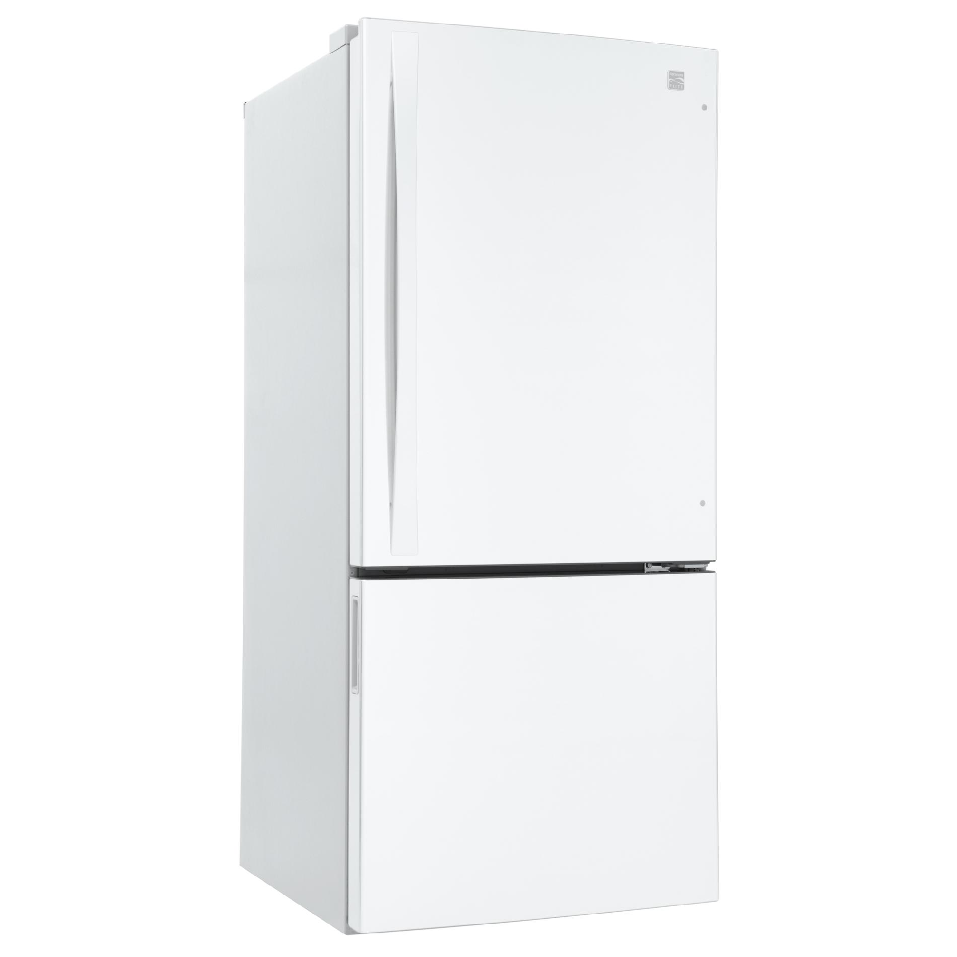 Kenmore Elite 22.1 cu. ft. Bottom-Freezer Refrigerator - White