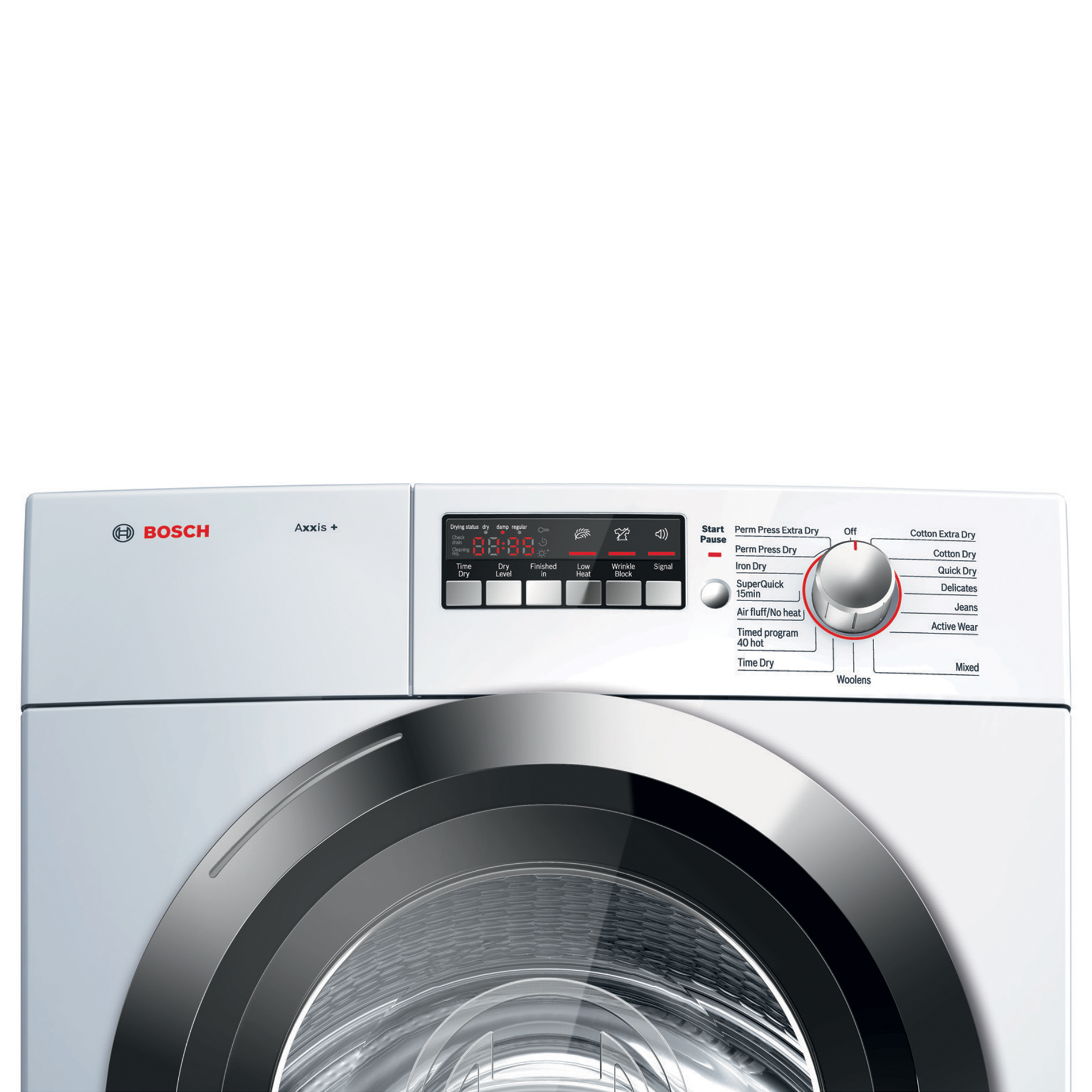Bosch Axxis Plus 4.0 cu. ft. Condensation Electric Dryer - White