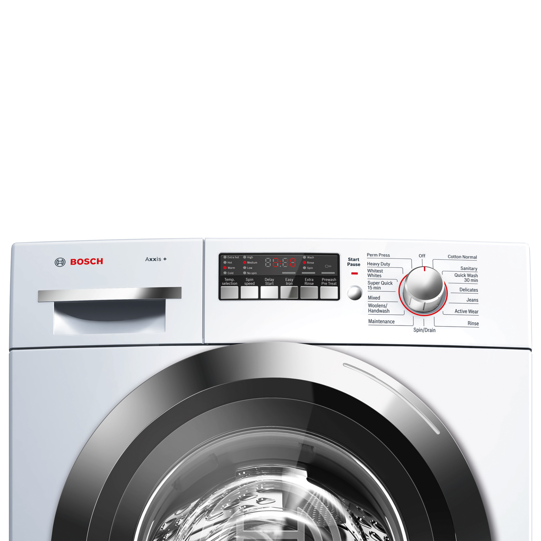Bosch Axxis Plus 2.2 cu. ft. Compact Washer - White