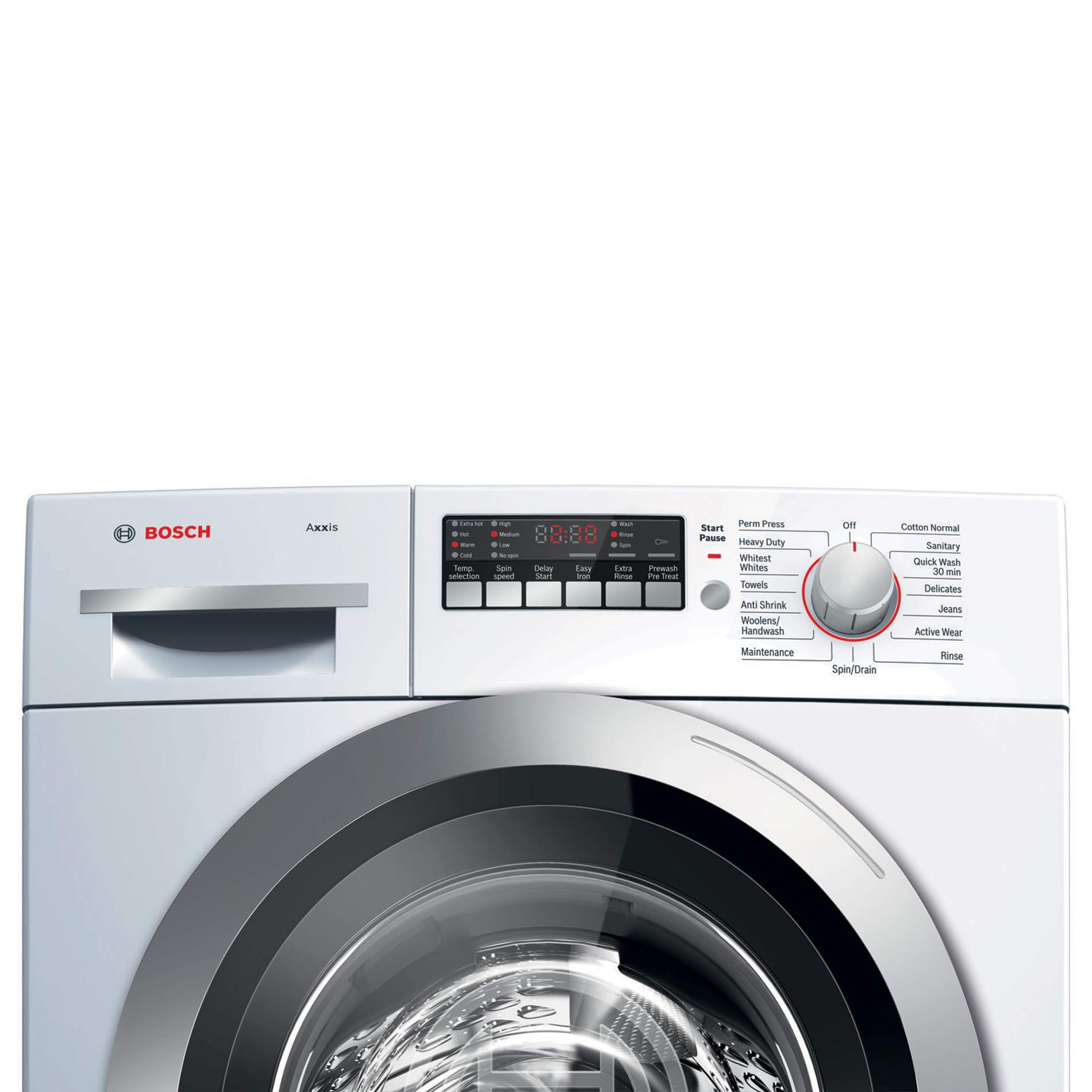 Bosch Axxis 2.2 cu. ft. Compact Front Load Washer - White