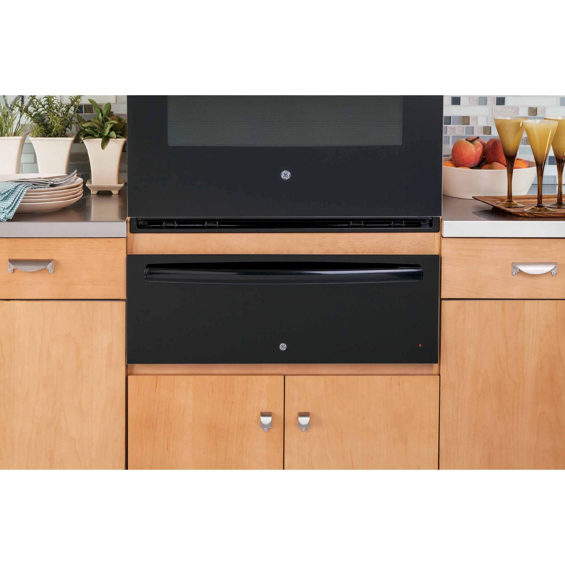 "GE Profile 30""  Warming Drawer - Black"