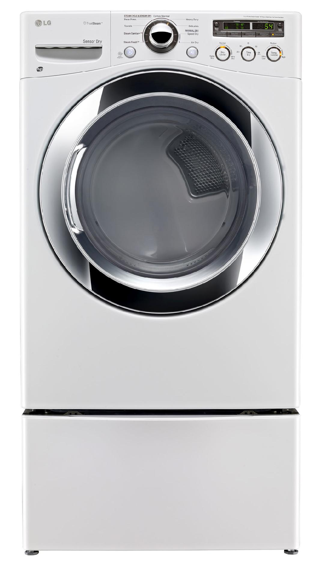 LG 7.3 cu. ft. Gas Dryer w/ Sensor Dry - White