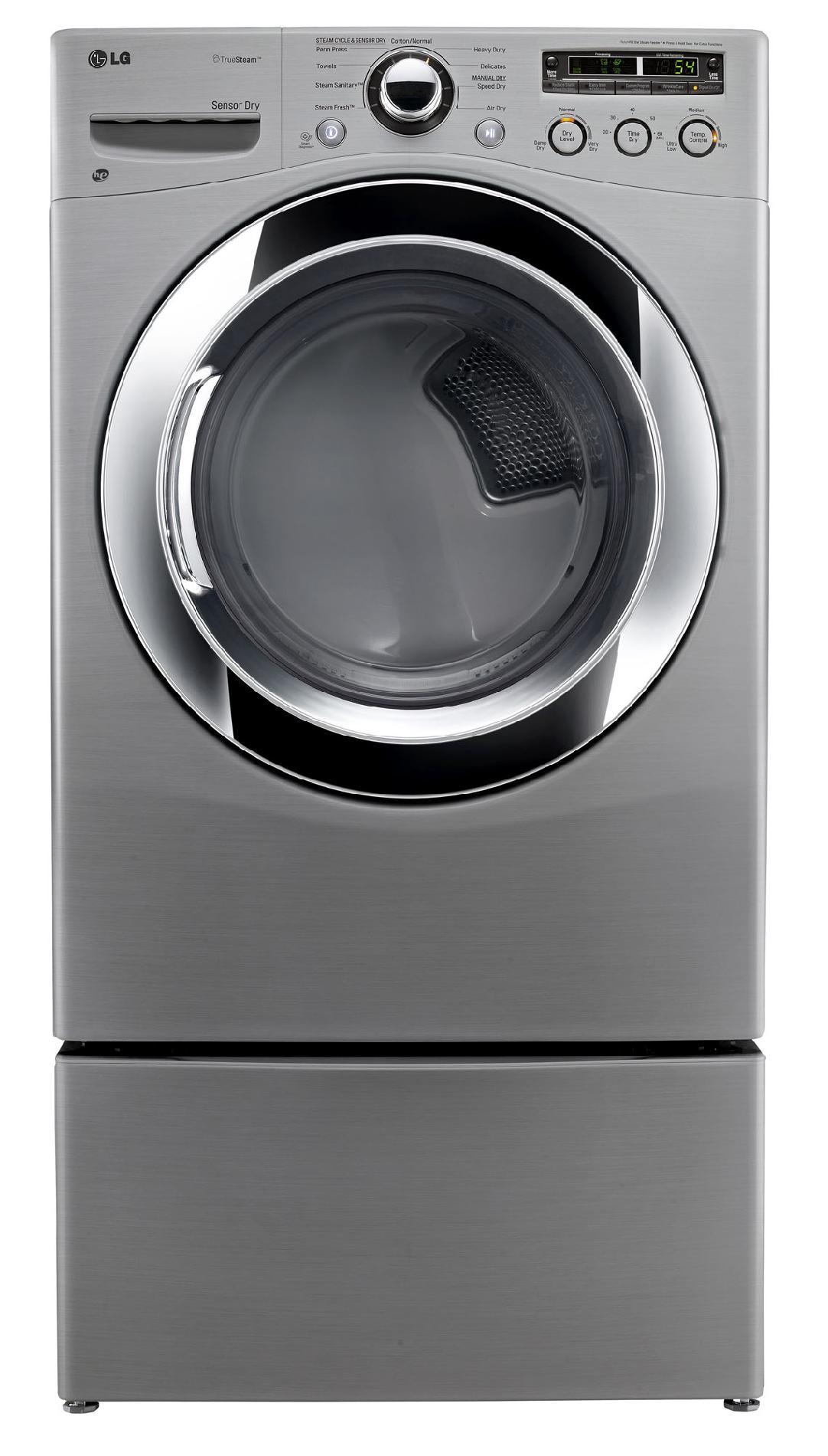LG 7.3 cu. ft. Gas Dryer w/ Sensor Dry - Graphite Steel