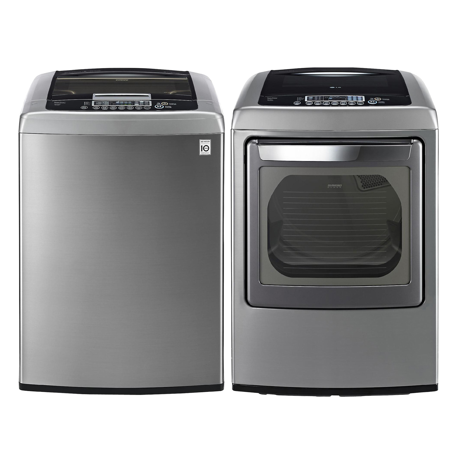 Washer And Dryers Combo LG 4.3 cu. ft. High-Efficiency Top-Load Washer - Graphite ...