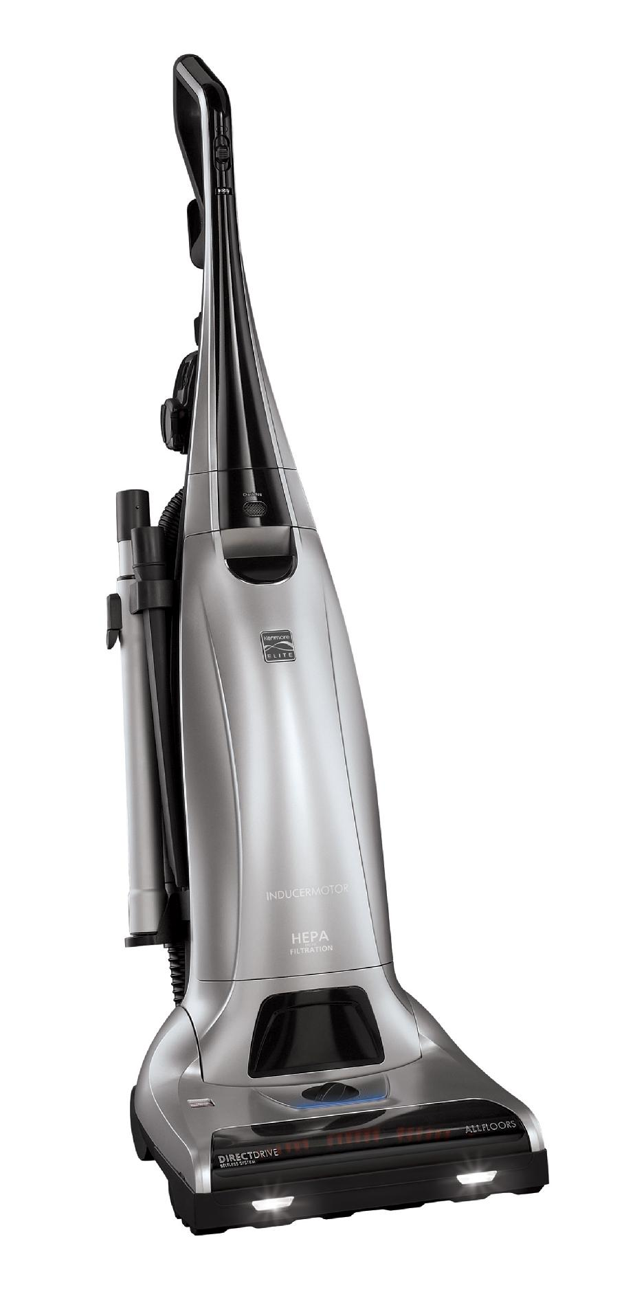 Kenmore Elite 31150 Bagged Upright Vacuum Cleaner - Silver