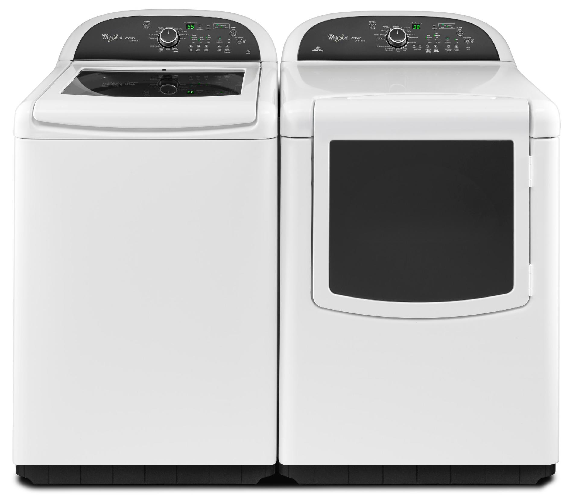 Whirlpool 4.8 cu. ft. Cabrio® Platinum HE Top-Load Washer w/ Greater Capacity - White