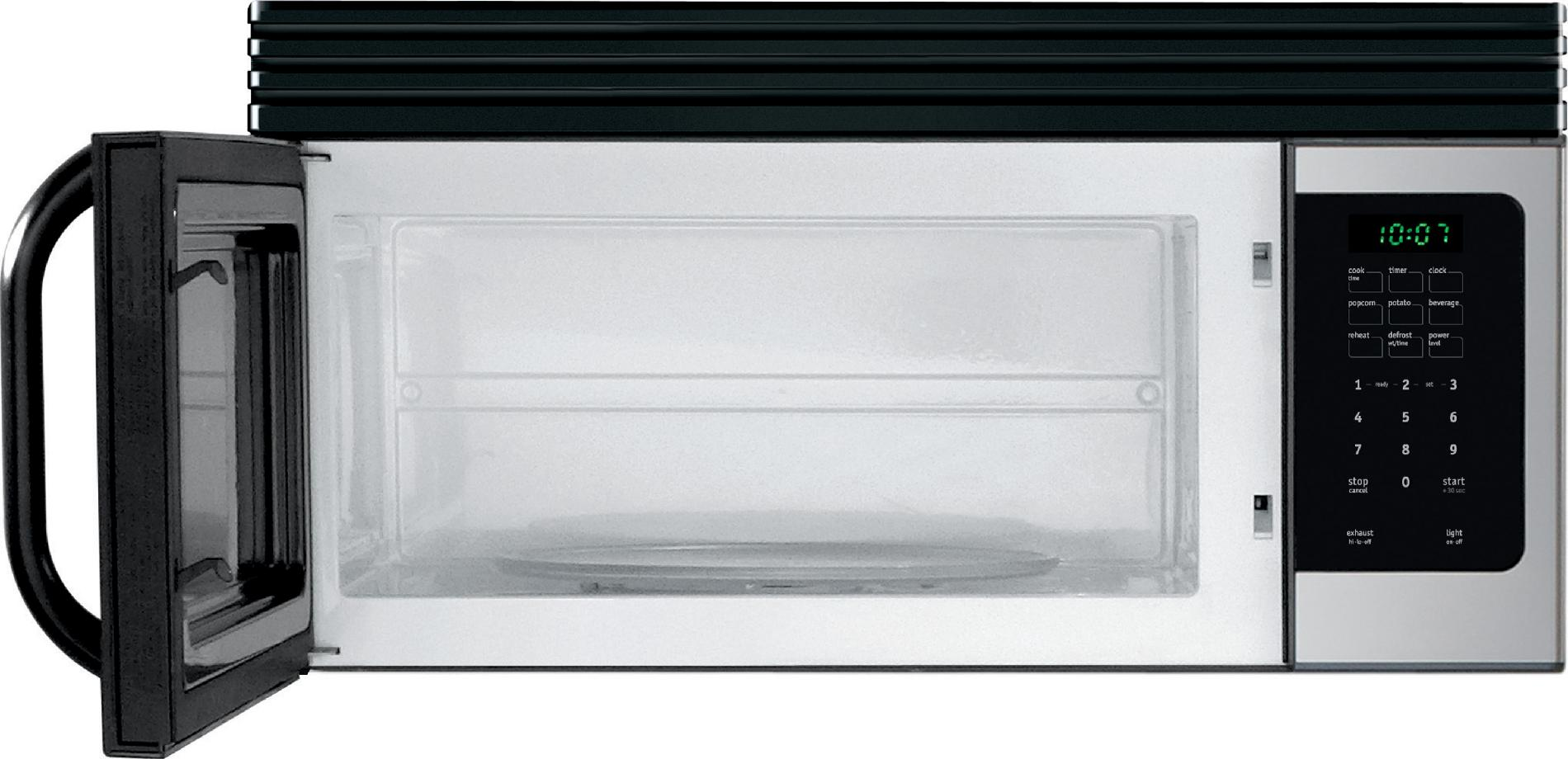 Frigidaire 1.6 cu. ft. Over-the-Range Microwave Oven - Stainless Steel