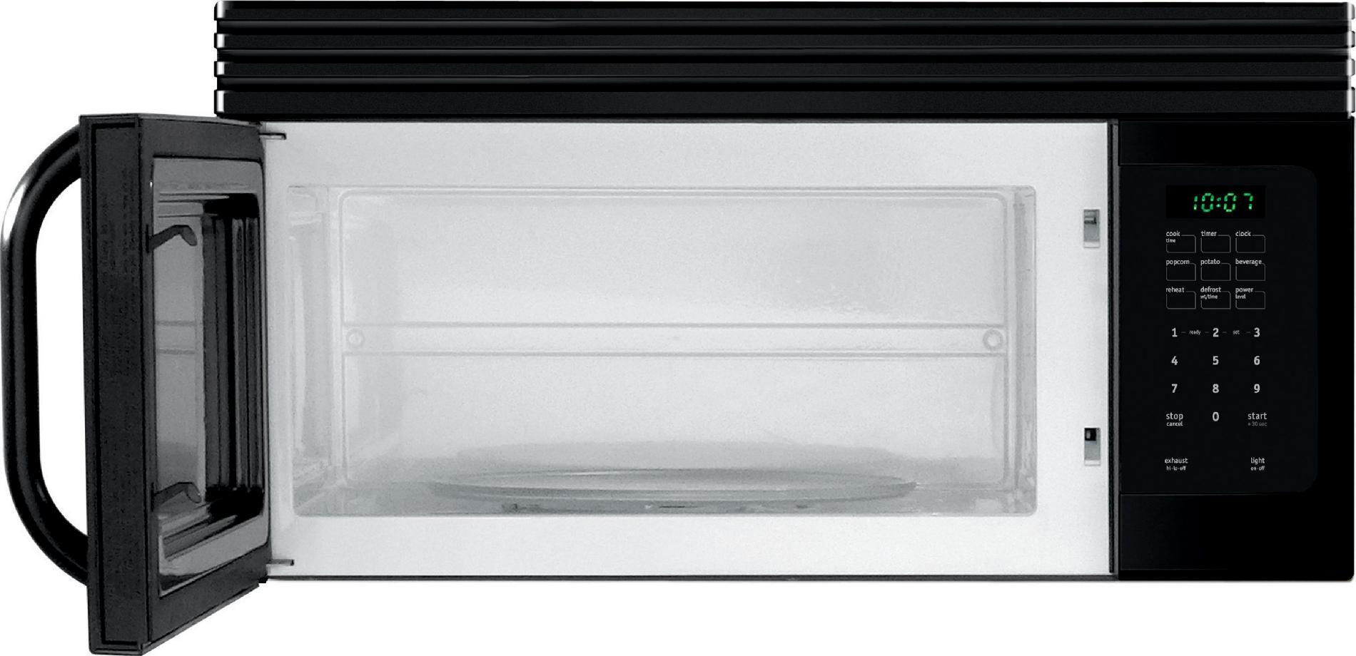 Frigidaire 1.6 cu. ft. Over-the-Range Microwave Oven - Black