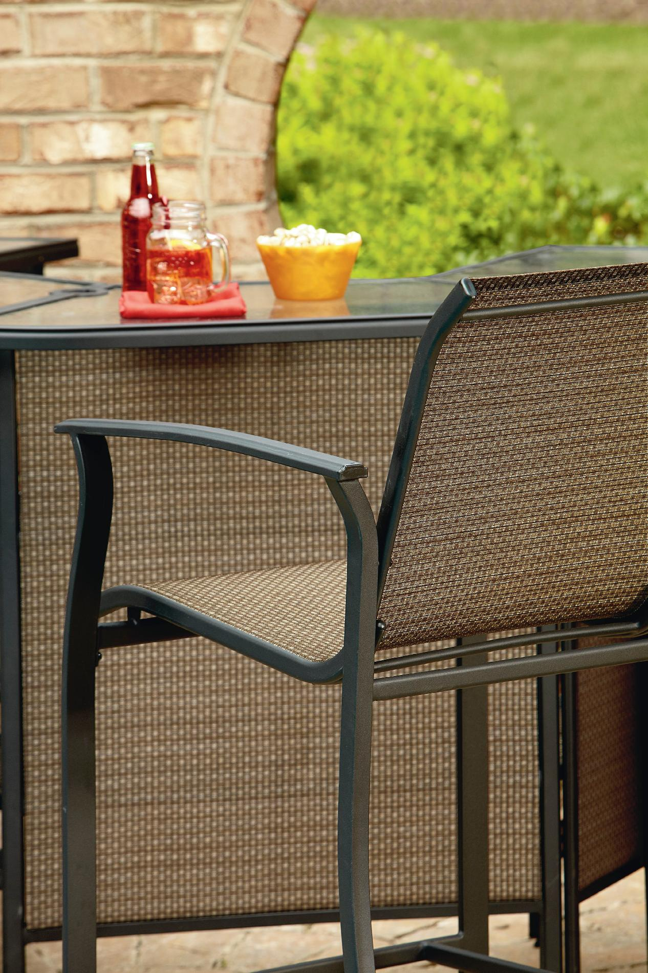 Garden Oasis Harrison 5 Piece Bar Set - Limited Availability