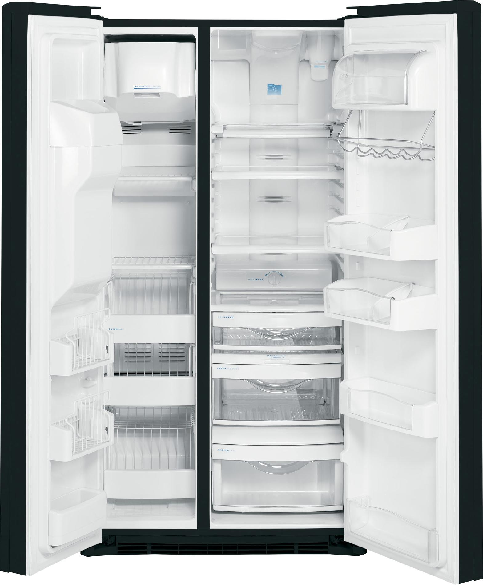 GE Profile 23.3 cu. ft. Counter-Depth Side-by-Side Refrigerator - Panel Ready