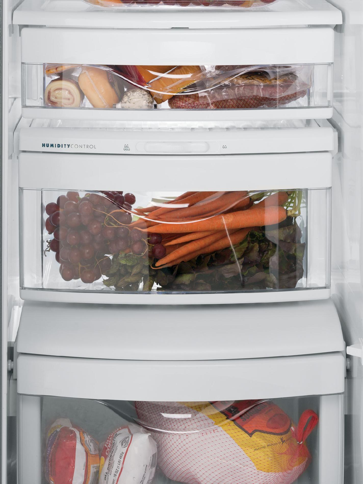 GE 22.7 cu. ft. Counter-Depth Side-by-Side Refrigerator w/ Dispenser - Stainless Steel