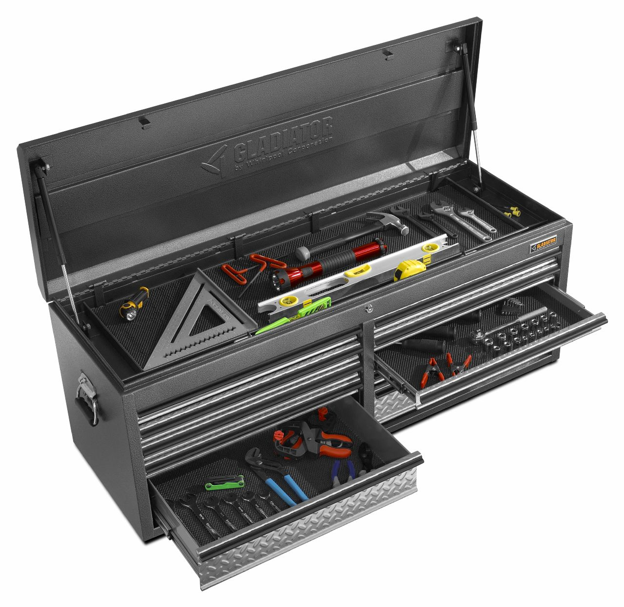 """Gladiator 52"""" 10-Drawer Tool Top Chest"""