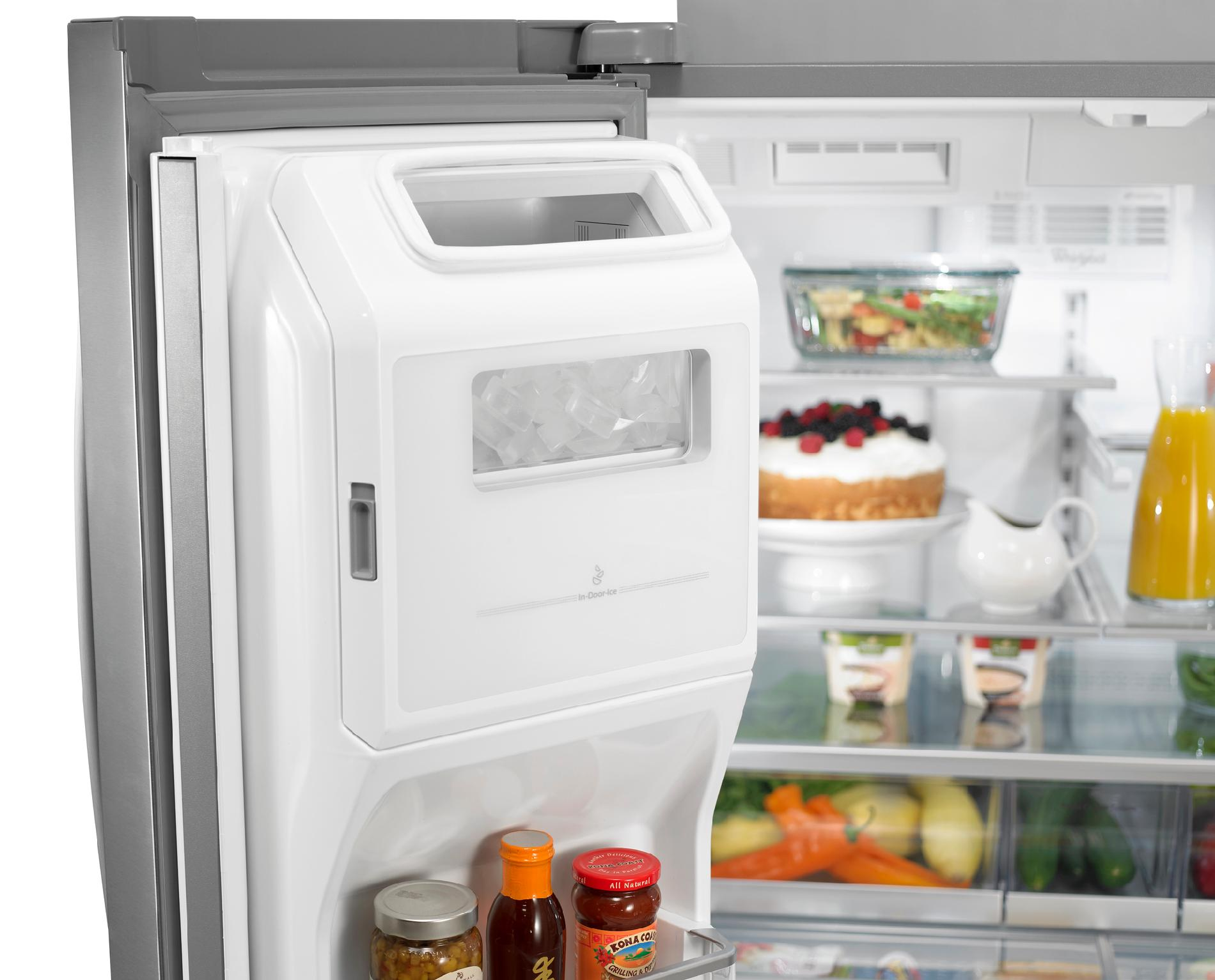 Whirlpool 28.1 cu. ft. French Door Refrigerator w/ Most Flexible Storage - Stainless Steel