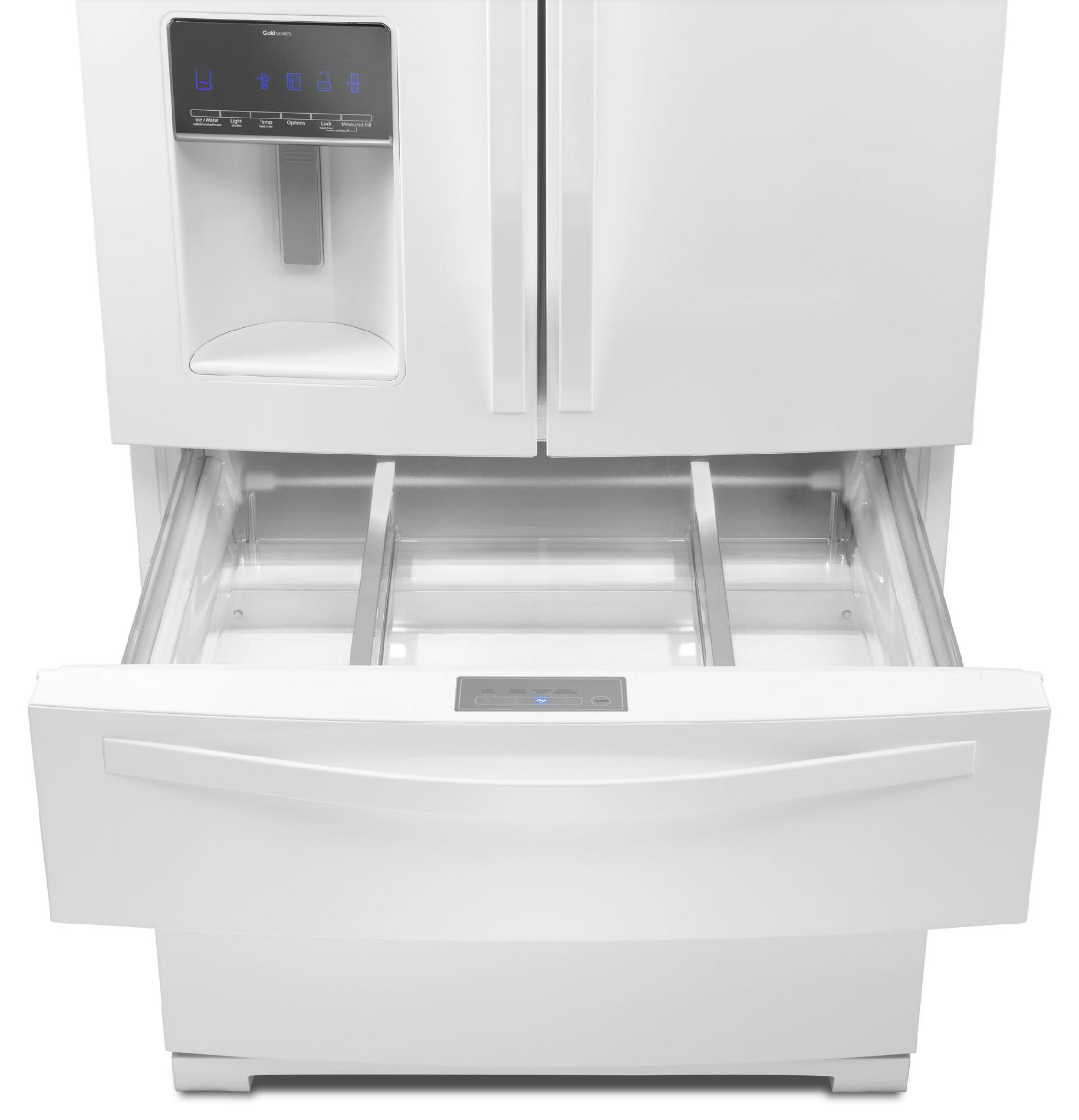 Whirlpool 28.1 cu. ft. French Door Refrigerator w/ Most Flexible Storage - White