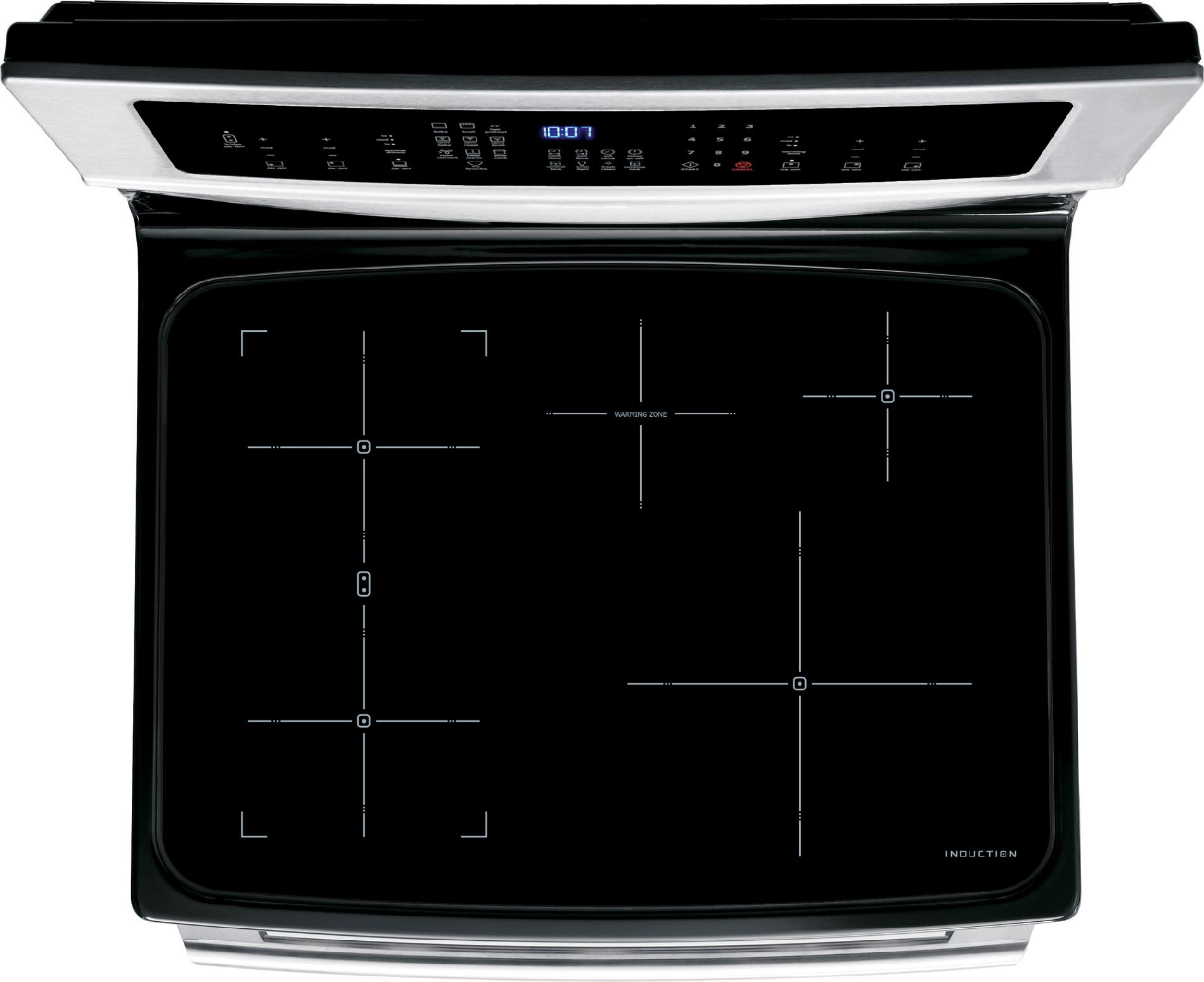 Electrolux 6.0 cu. ft. Electric Range w/ Induction Cooktop and IQ-Touch™ Controls - Stainless Steel