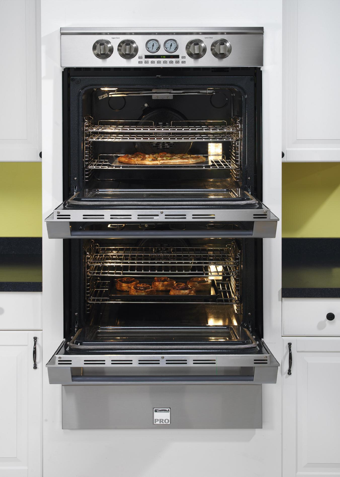 "Kenmore Pro 30"" Electric Double Wall Oven"