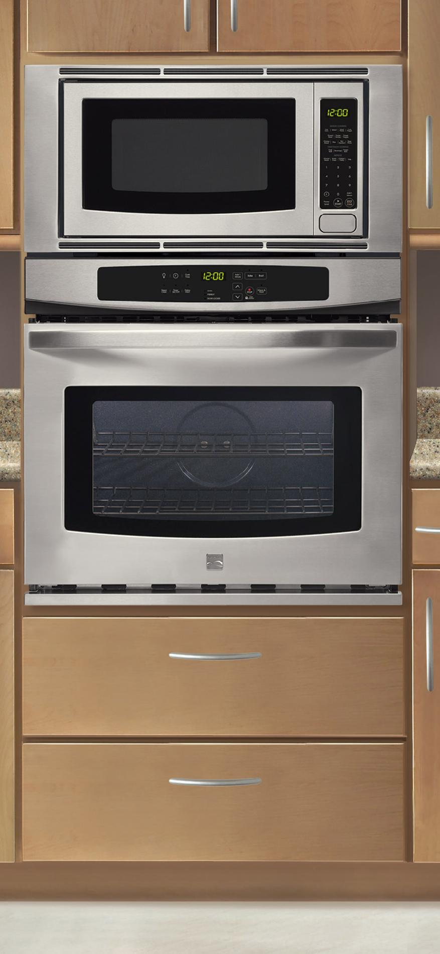 "Kenmore 30"" Electric Combination Wall Oven"