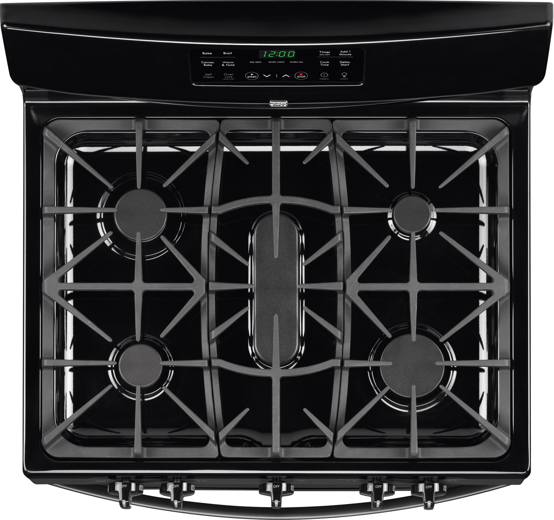 Kenmore 5.0 cu. ft. Freestanding Gas Range w/ Convection - Black