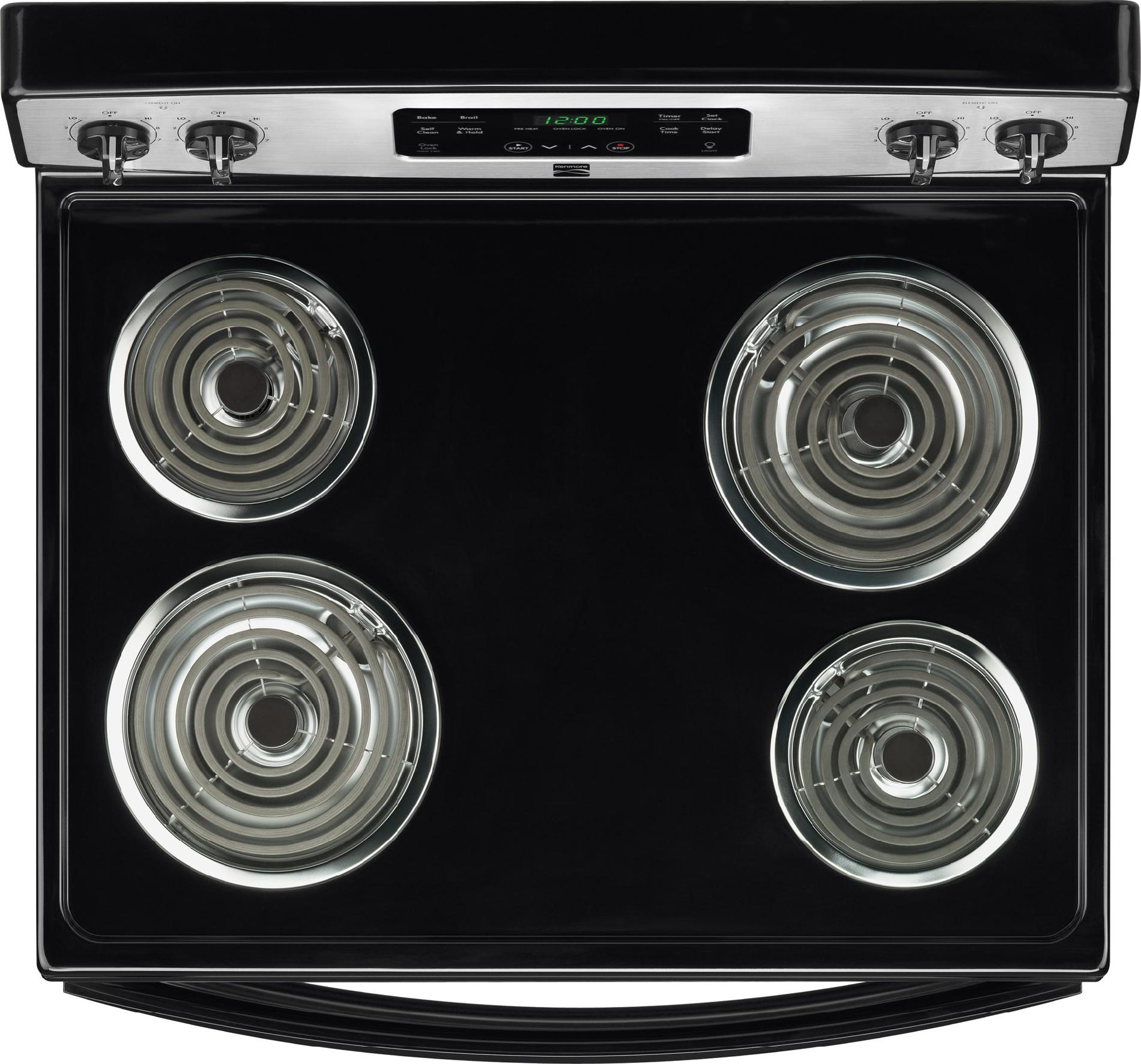 Kenmore 5.3 cu. ft. Electric Range w/ Self-Cleaning Oven - Stainless Steel