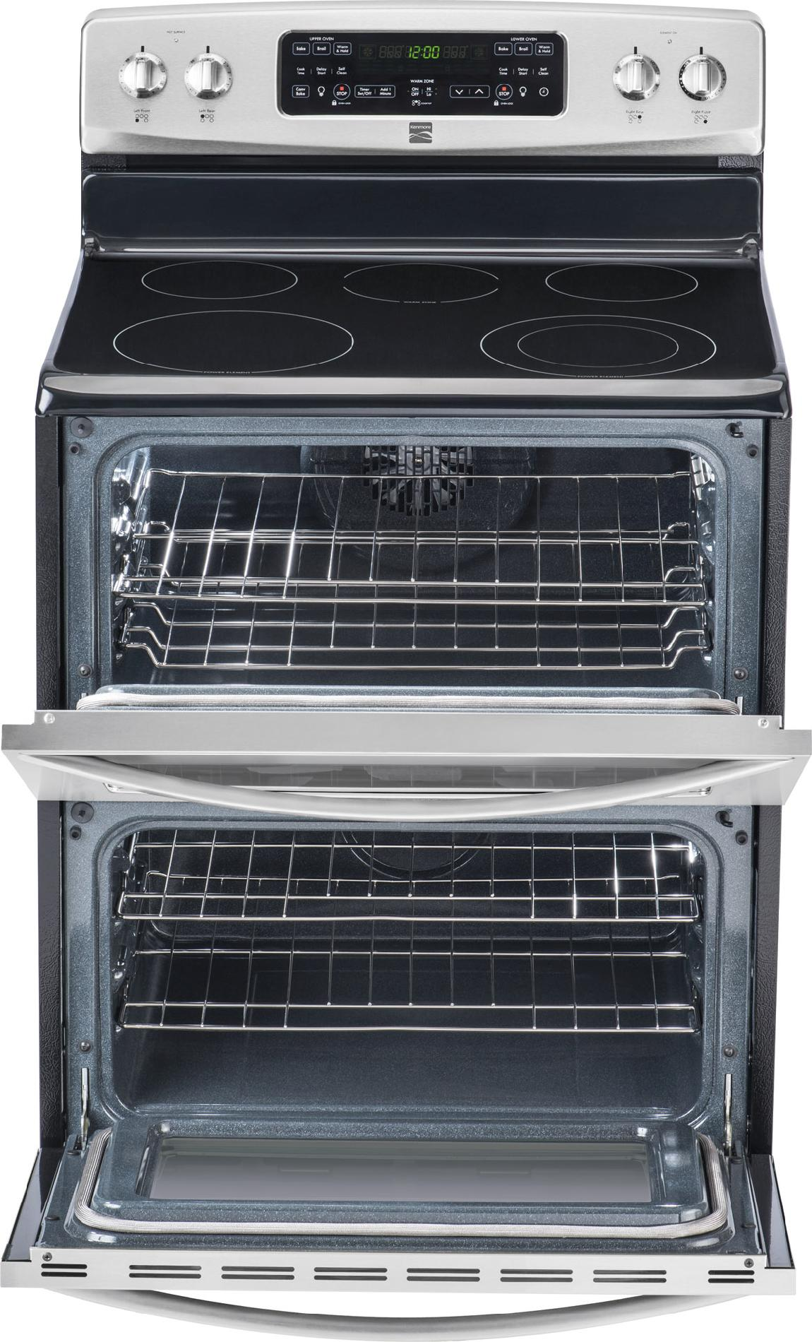 Kenmore 7.0 cu. ft. Double-Oven Electric Range w/ Convection - Stainless Steel