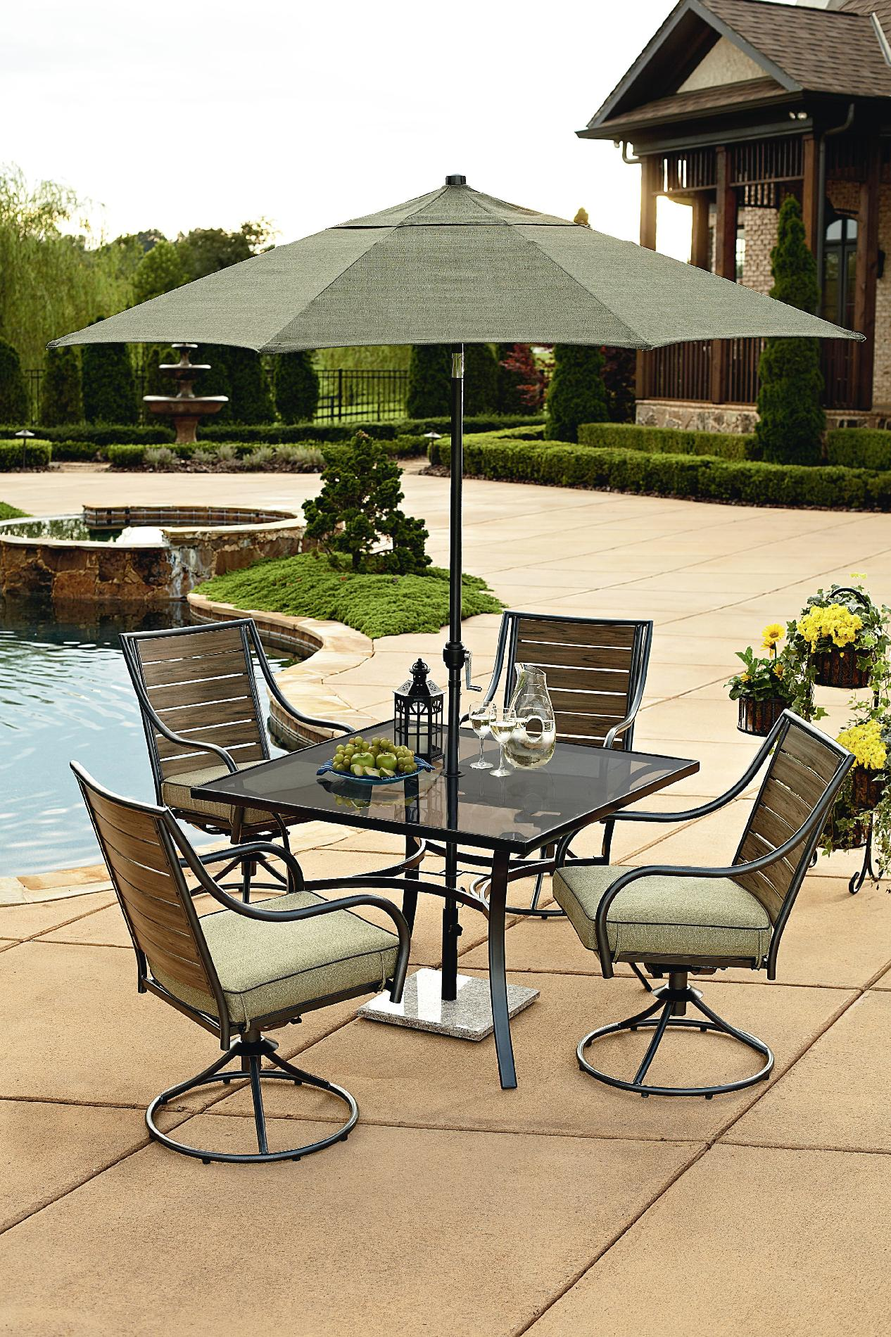 Garden Oasis Brooks 5pc Patio Dining Set *Limited Availability