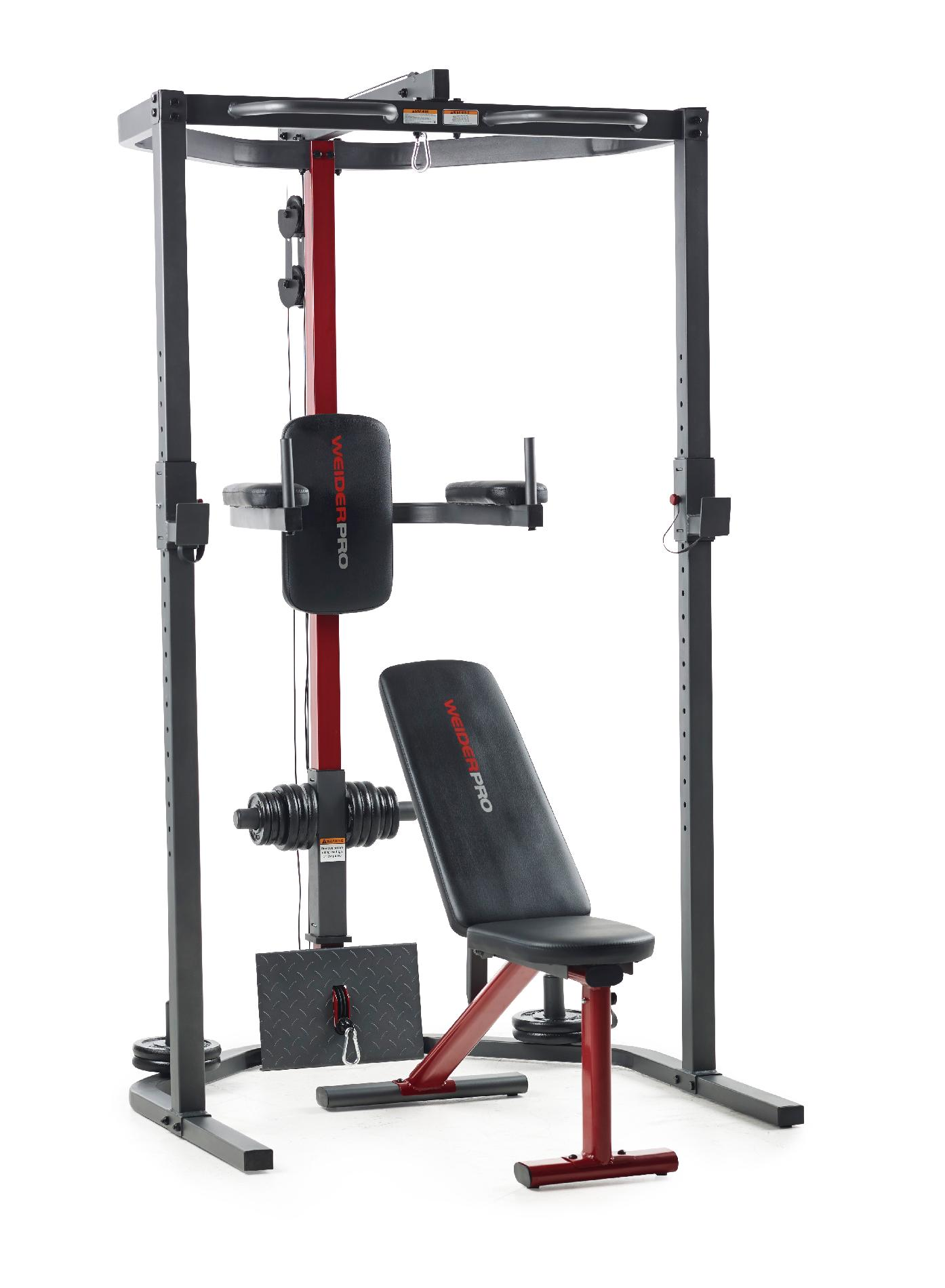 Weider Pro Multi Position Bench
