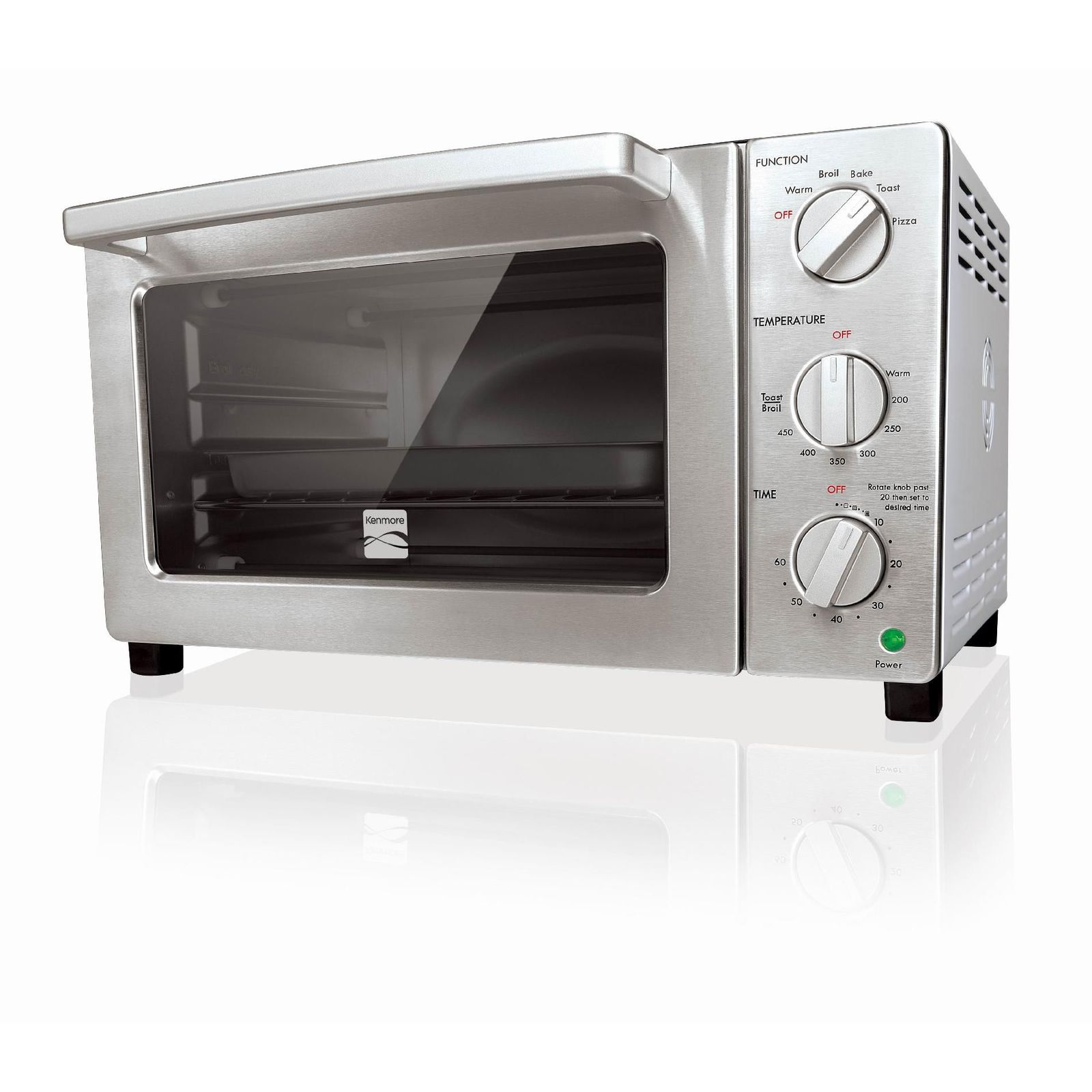 Kenmore 6-Slice Convection Toaster Oven, White