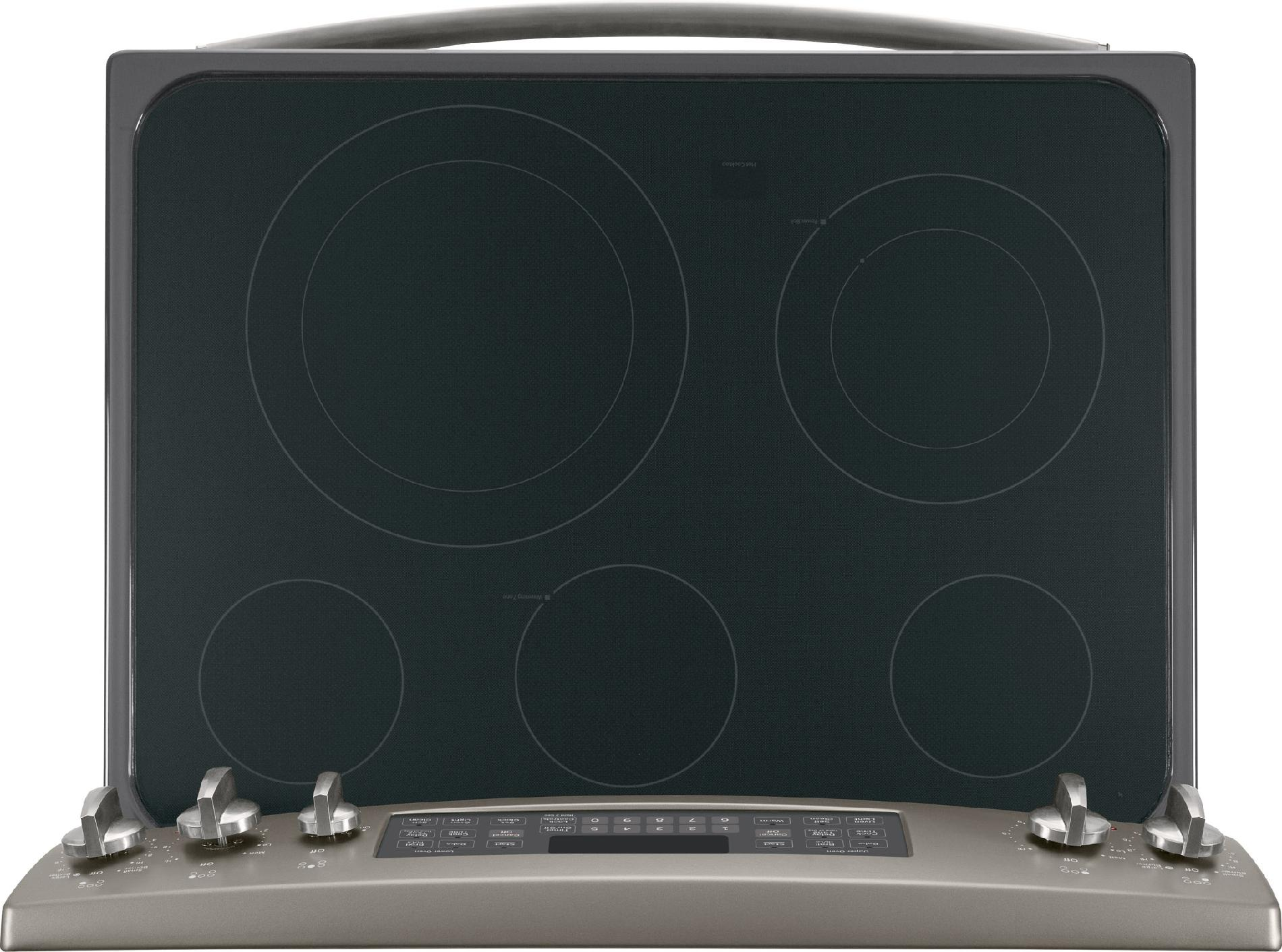 GE Appliances 6.6 cu. ft. Electric Range w/ Double Oven - Slate