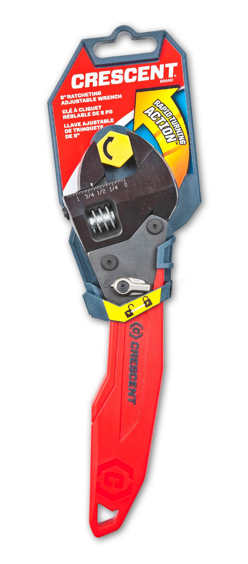 "Crescent 8"" Ratcheting Adjustable Wrench"