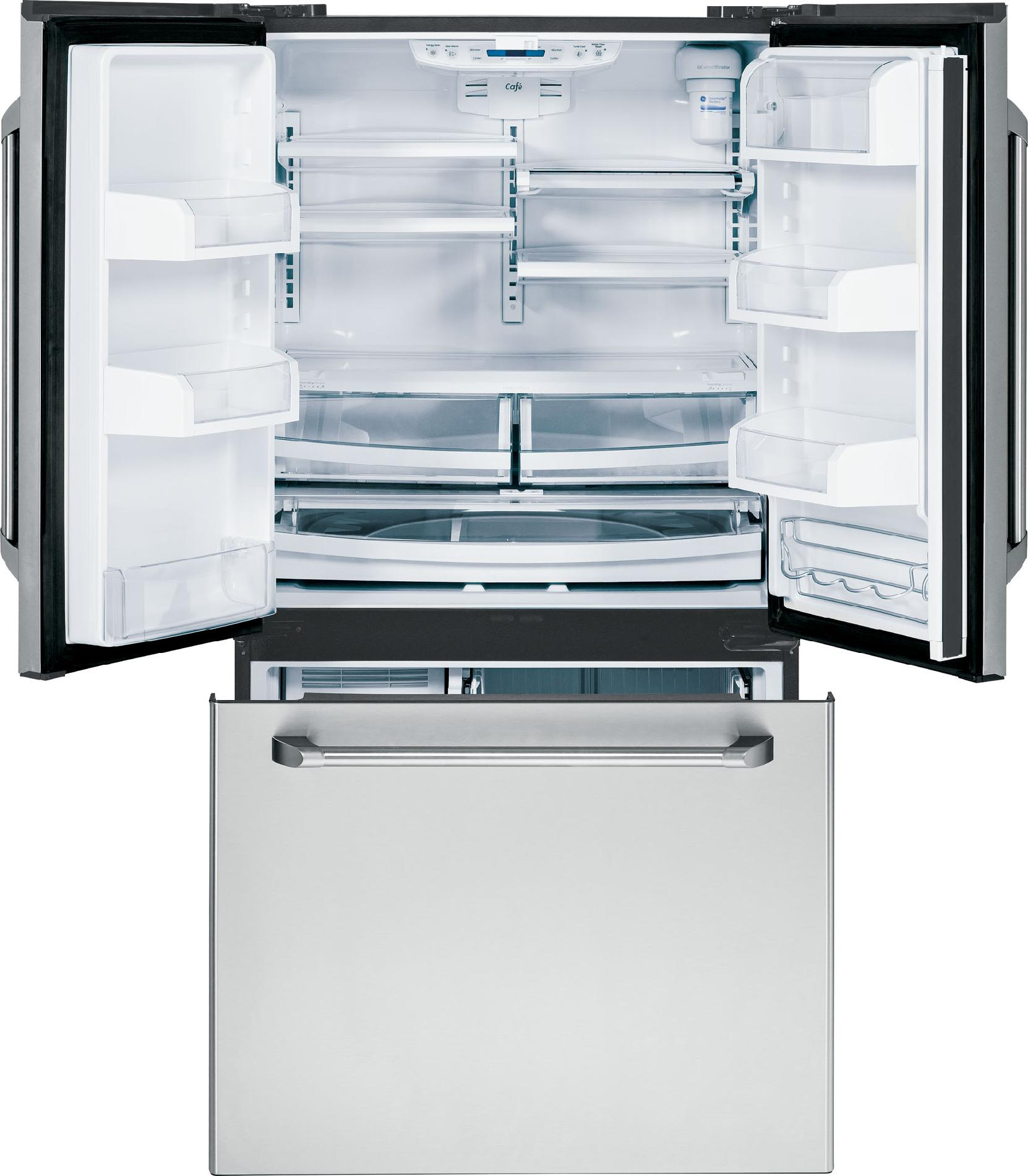 GE Café 20.7 Cu. Ft. Counter-Depth French-Door Refrigerator