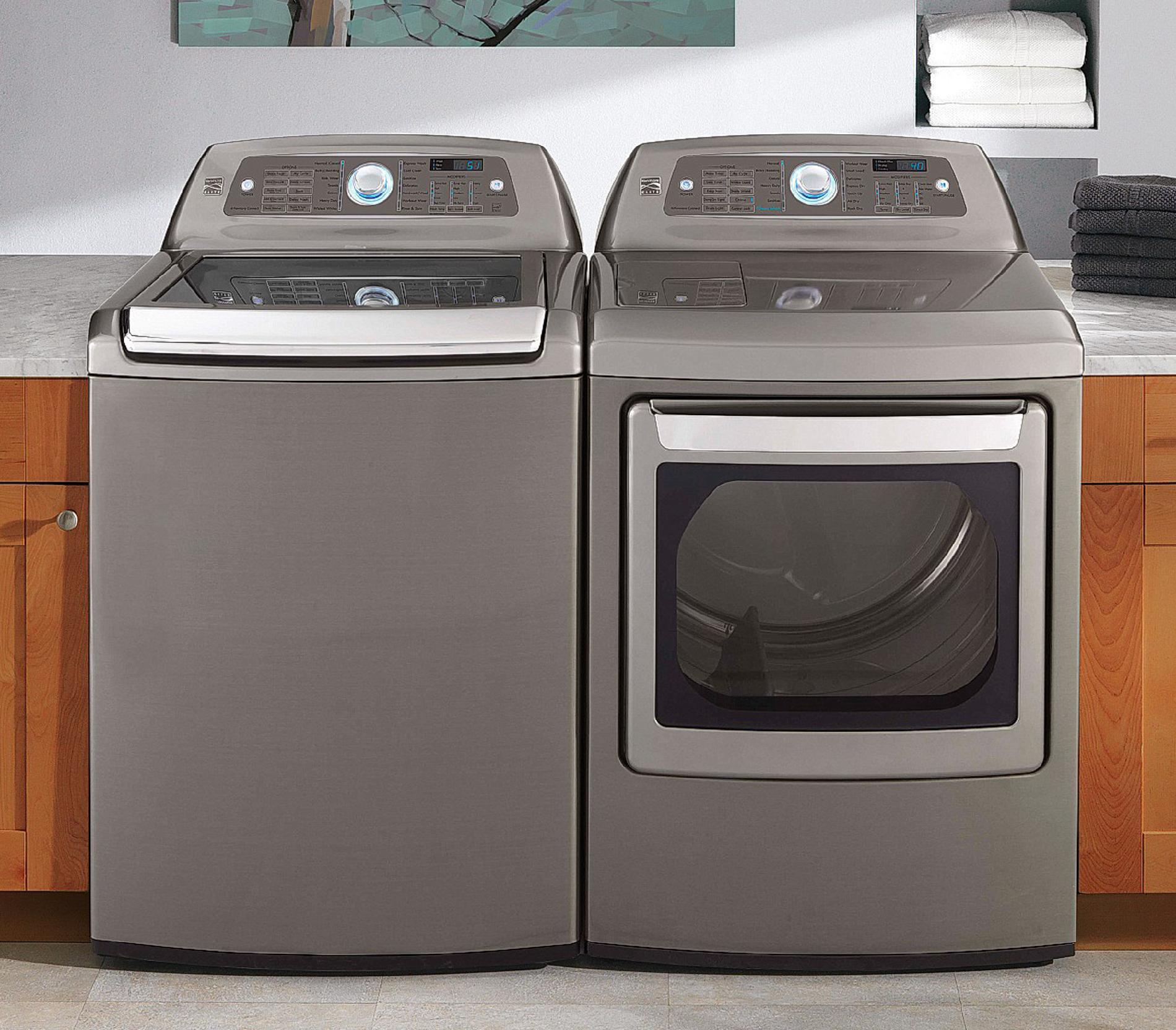 Kenmore Elite 4.7 cu. ft. High-Efficiency Top-Load Washer - Metallic