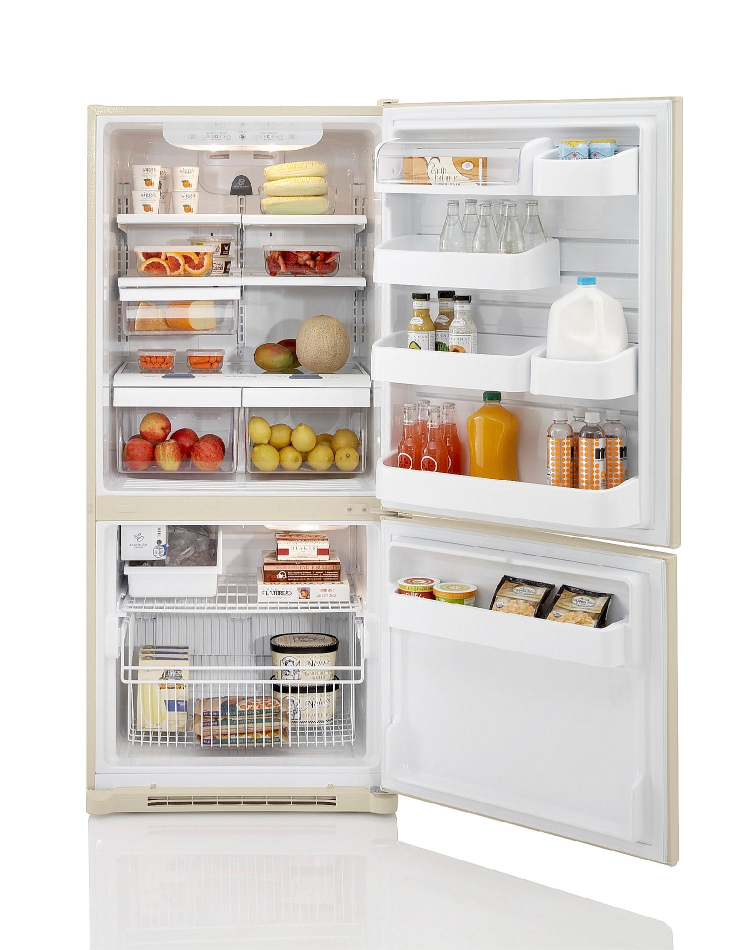 Kenmore 19.7 cu. ft. Bottom Freezer Refrigerator - Bisque