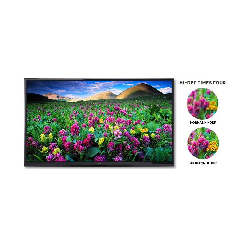 "Seiki LED 55"" HDTV 4K Ultra 120Hz - SE55UY04"
