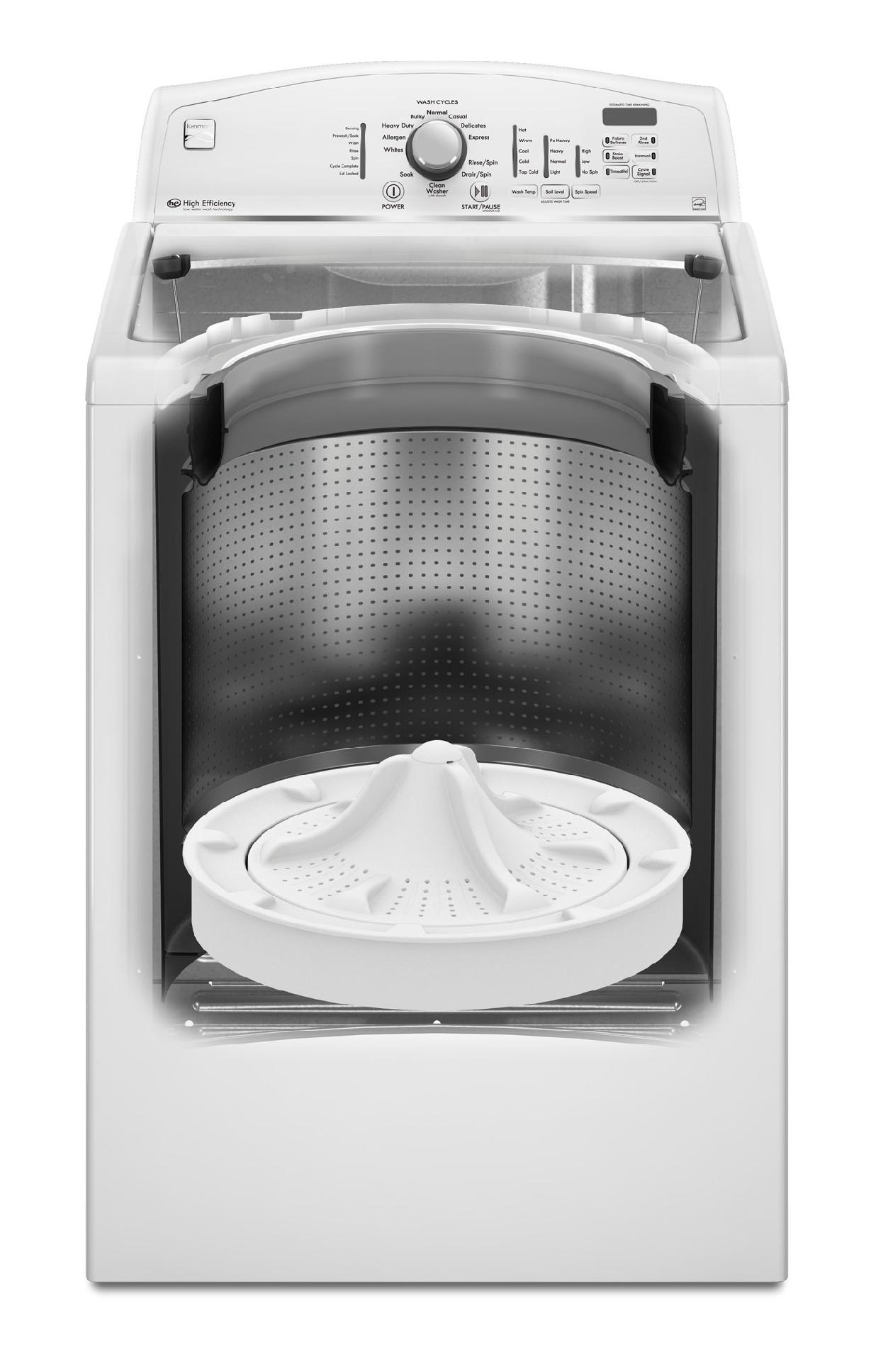 Kenmore 28002 3.6 cu. ft. High-Efficiency Top-Load Washer - White