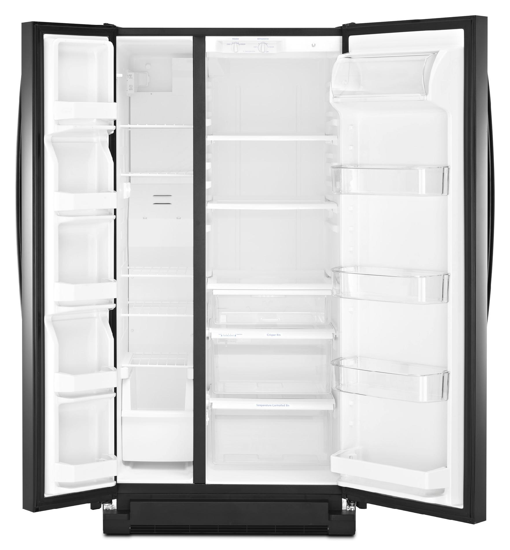 Kenmore 21.7 cu. ft. Side-by-Side Refrigerator - Black