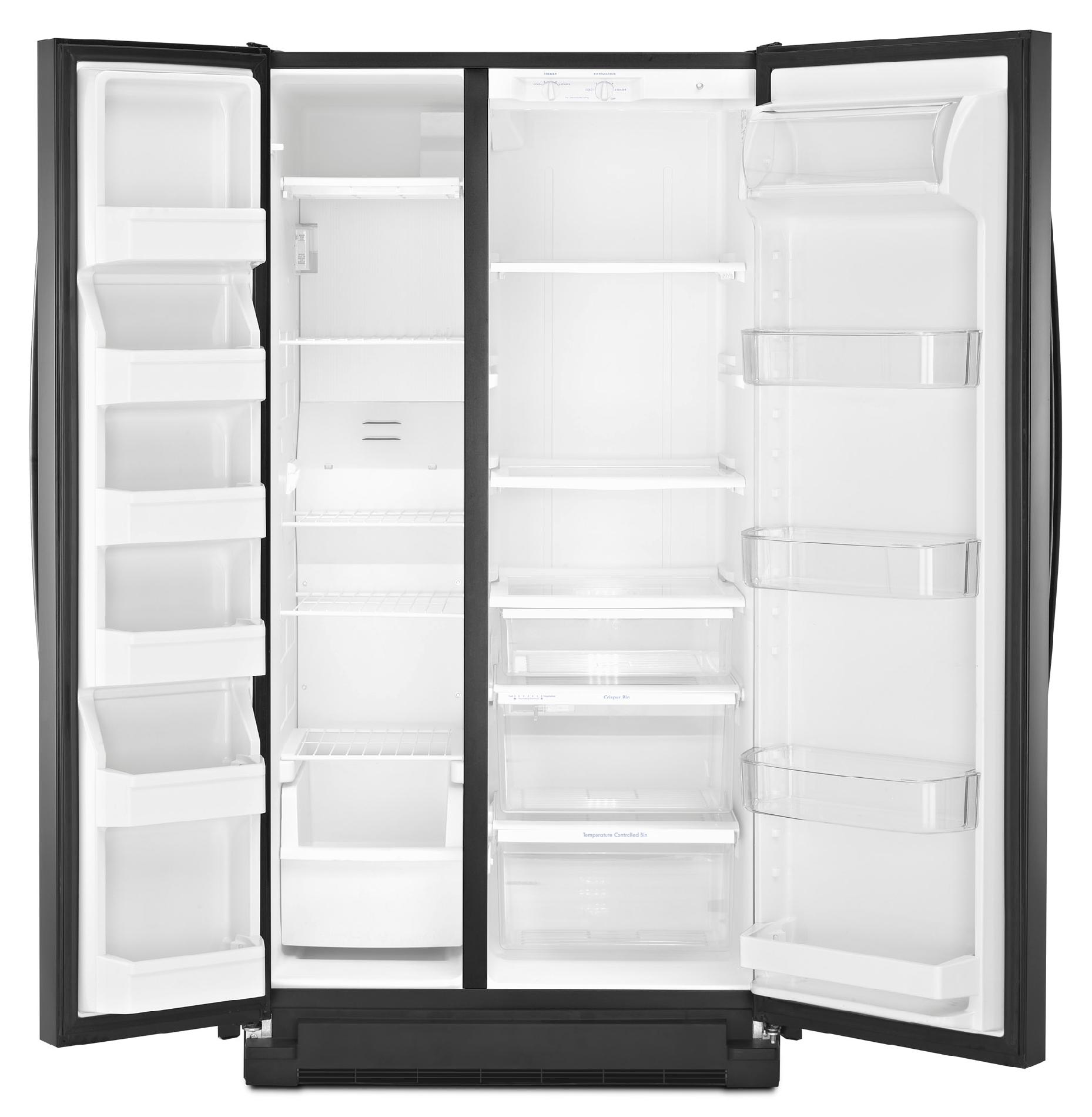 Kenmore 41159 25 cu. ft. Side-by-Side Refrigerator - Black