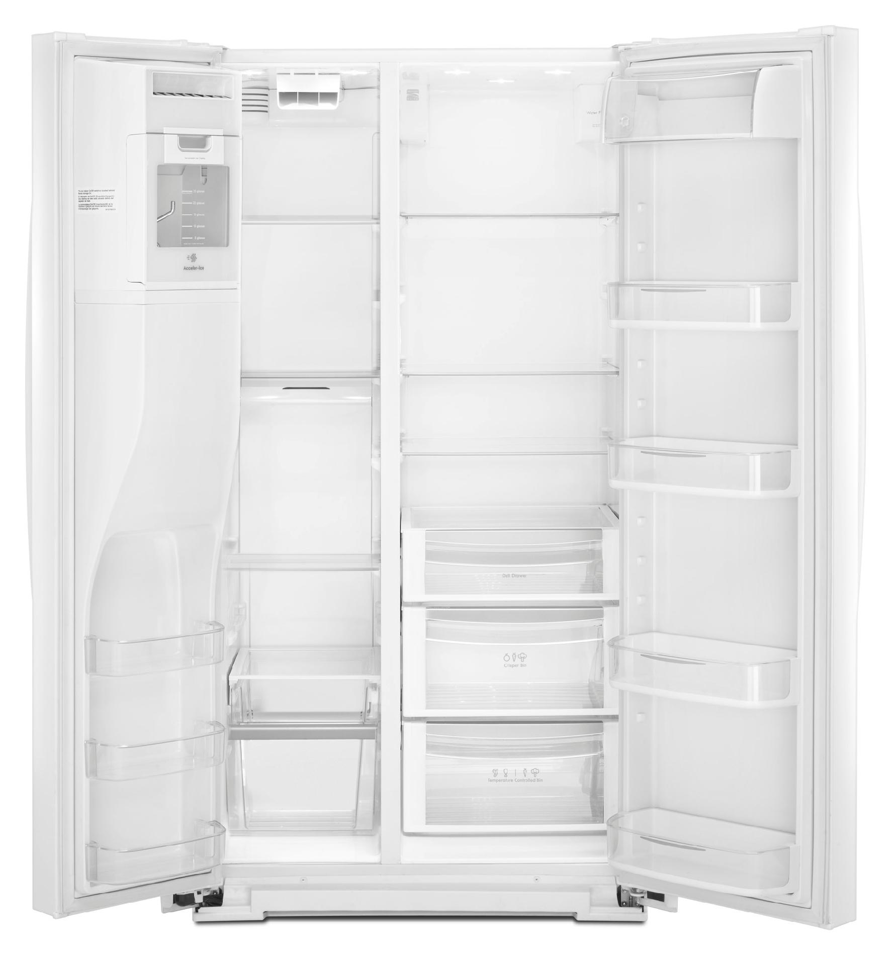 Kenmore Elite 24.5 cu. ft. Counter-Depth Side-by-Side Refrigerator - White