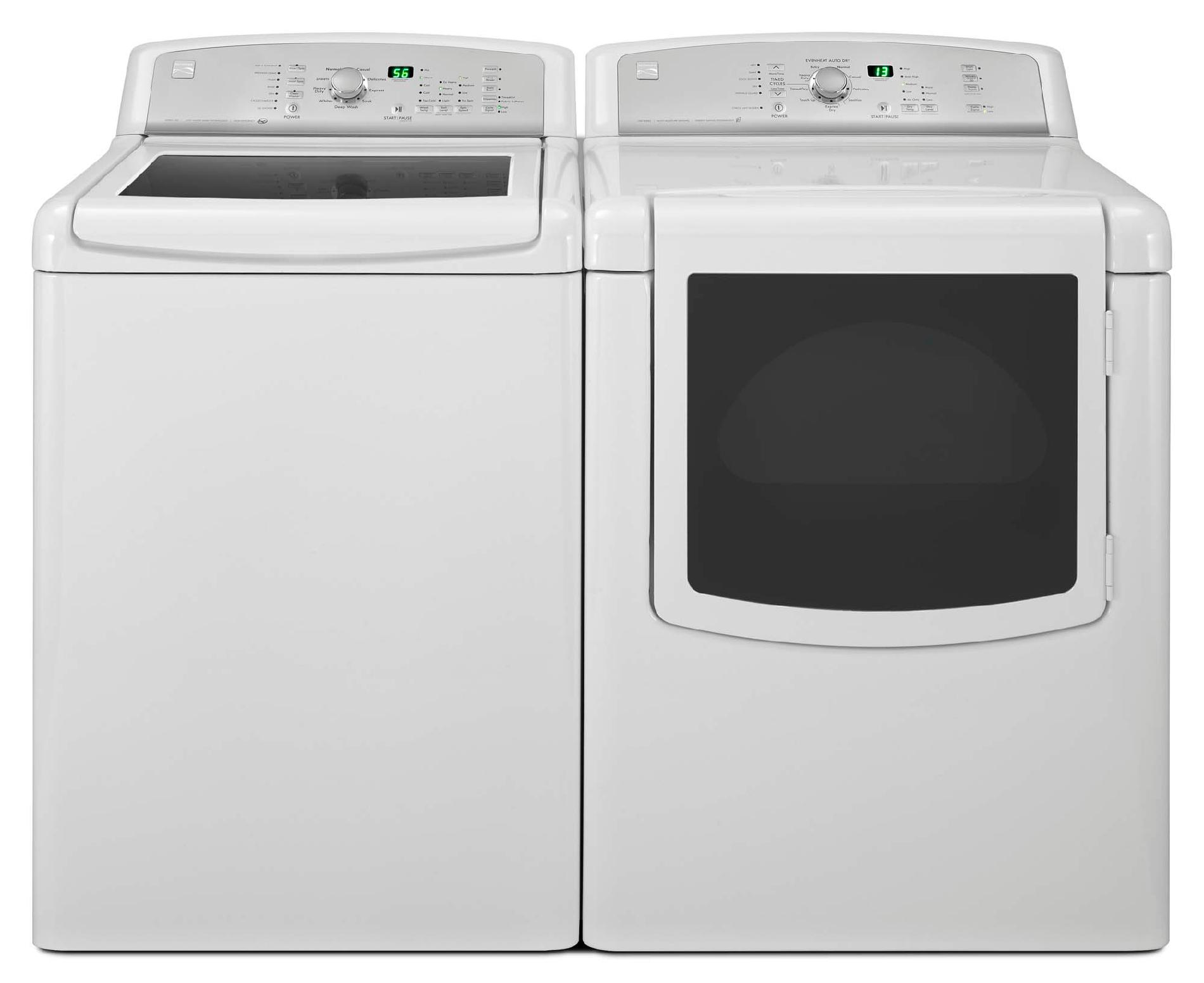 Kenmore 4.5 cu. ft. High-Efficiency Top-Load Washer w/ Express Cycle - White