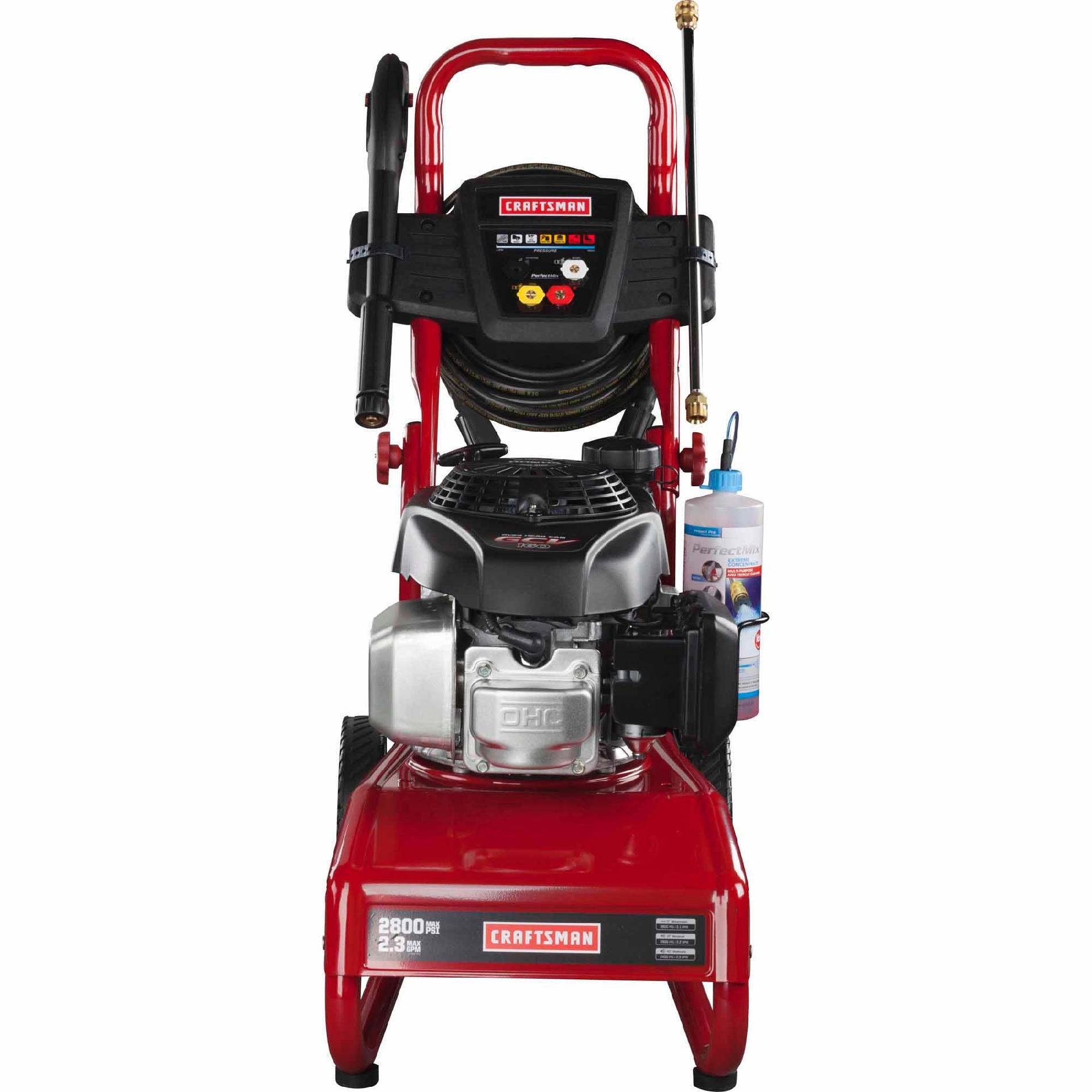 Craftsman 2800psi 2.3 GPM Gas Powered Pressure Washer
