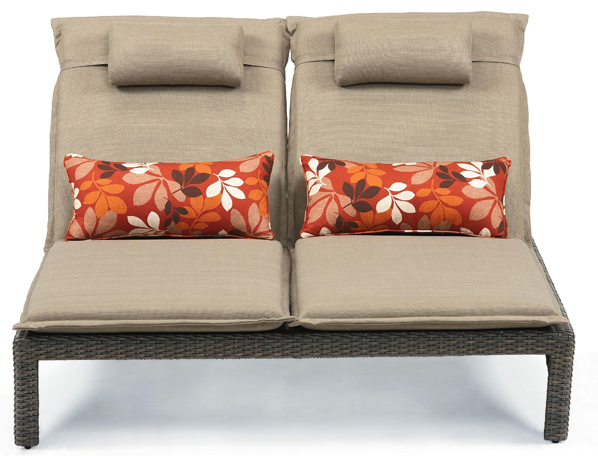 Ty Pennington Style Madison Double Chaise Lounge *Limited Availability