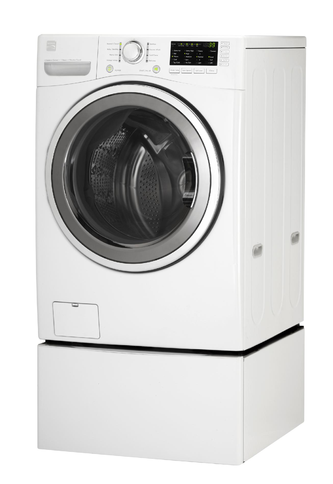Kenmore 4.0 cu. ft. Front-Load Washer w/ Steam - White