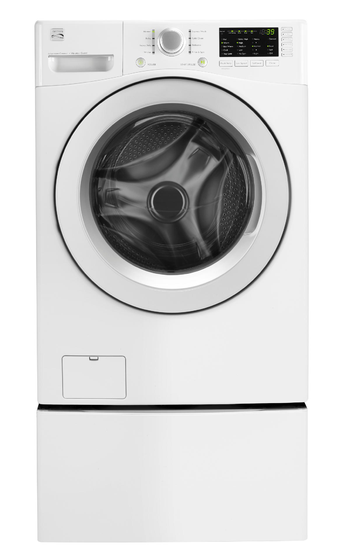 Kenmore 4.0 cu. ft. Front-Load Washer - White