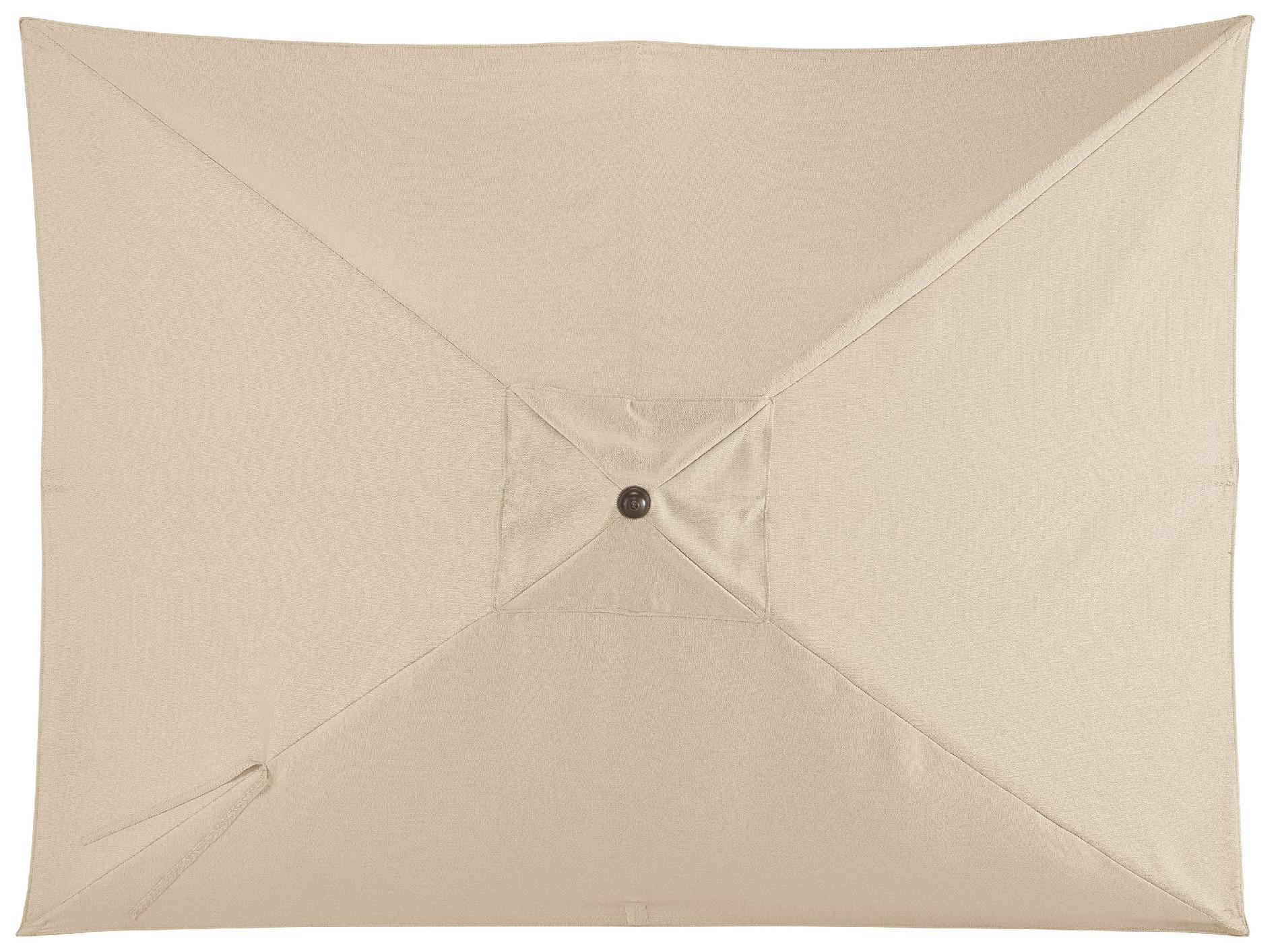 Grand Resort River Oak 9 Feet Rectangular Umbrella
