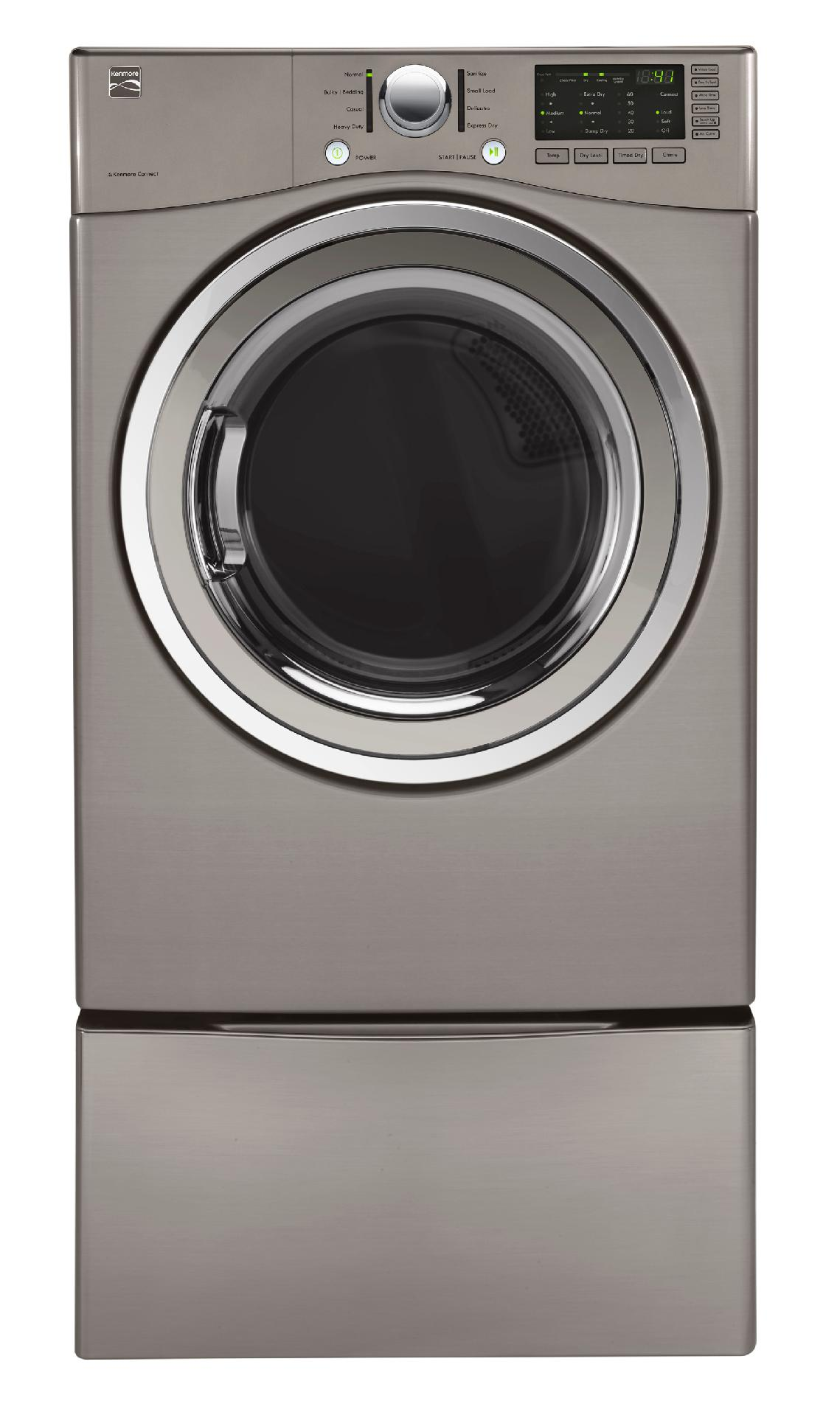 Kenmore 91283 7.3 cu. ft. Gas Dryer - Metallic