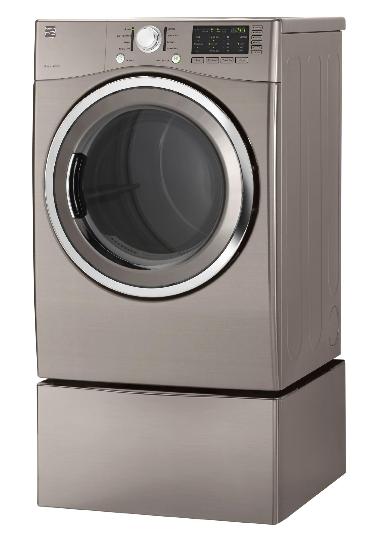 Kenmore 7.3 cu. ft. Electric Dryer  - Metallic