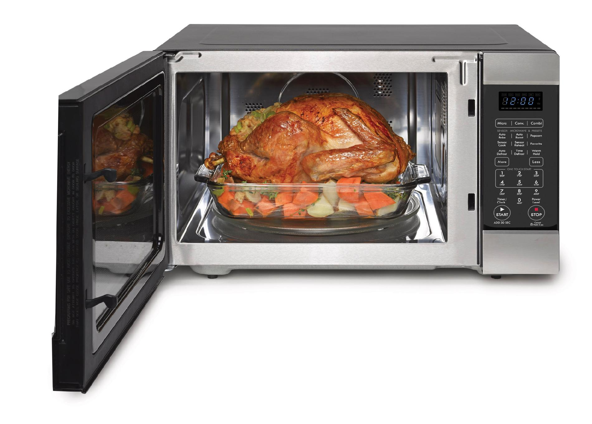 Kenmore Elite 1.5 cu. ft. Countertop Microwave w/ Convection - Stainless Steel