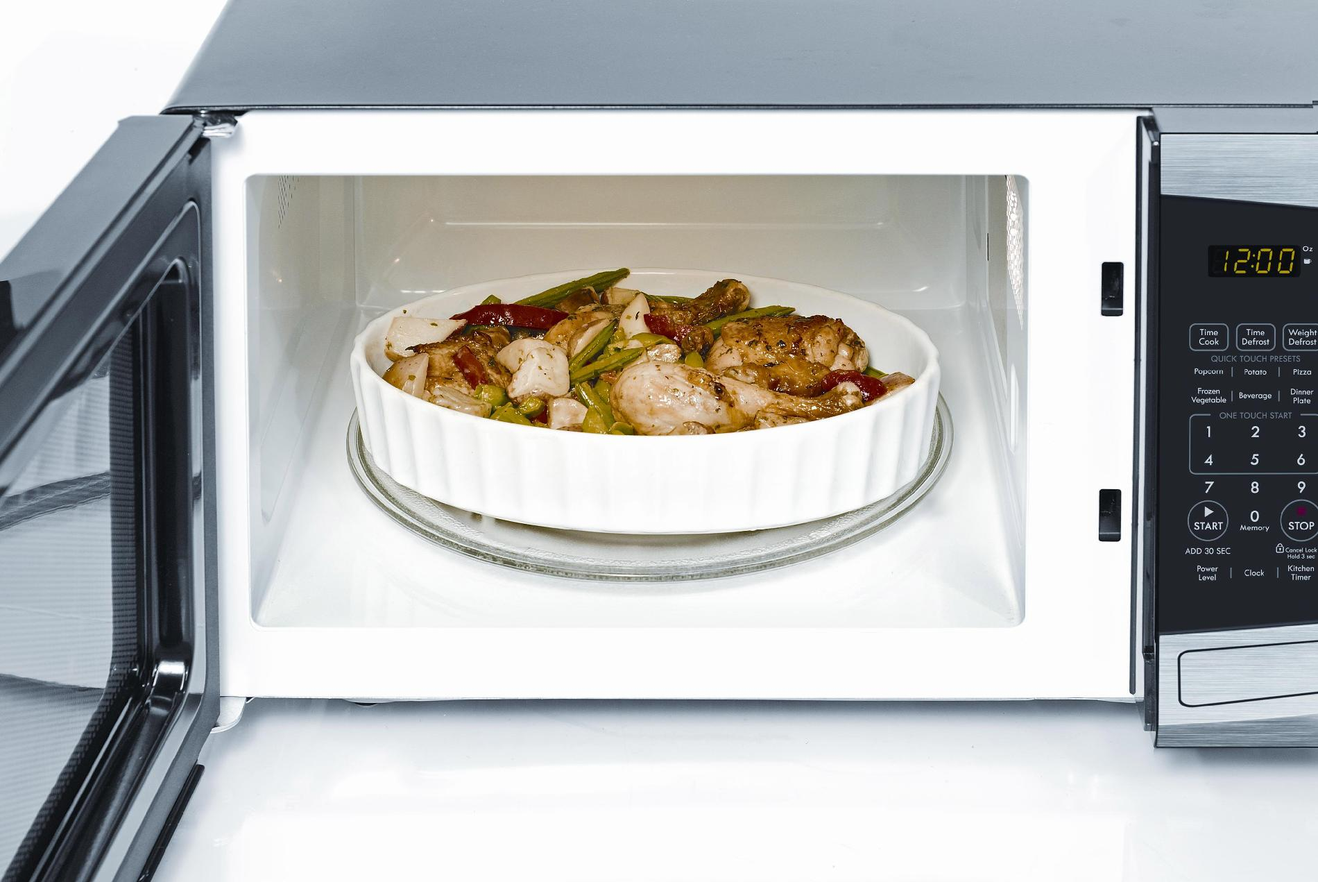 Kenmore 0.9 cu. ft.  Countertop Microwave - Stainless Steel